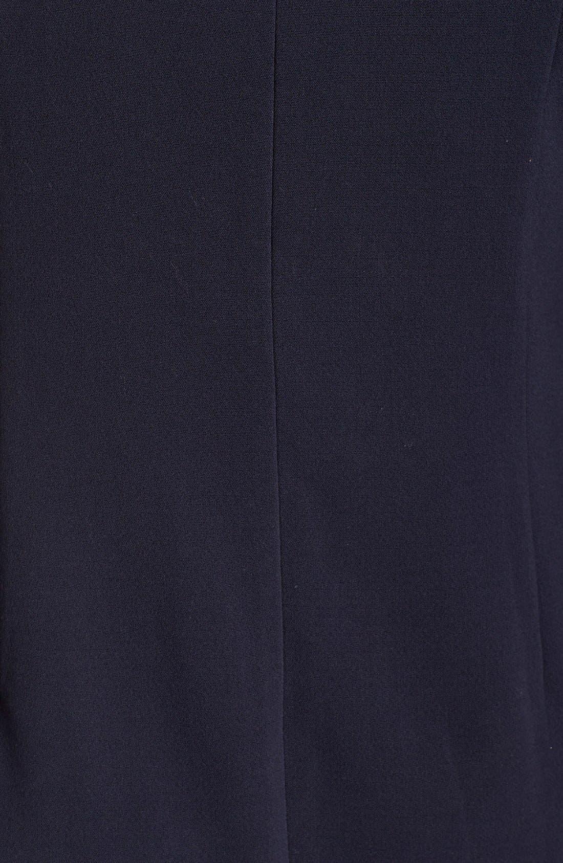 Alternate Image 6  - Eliza J Pocket Detail Shift Dress (Plus Size)