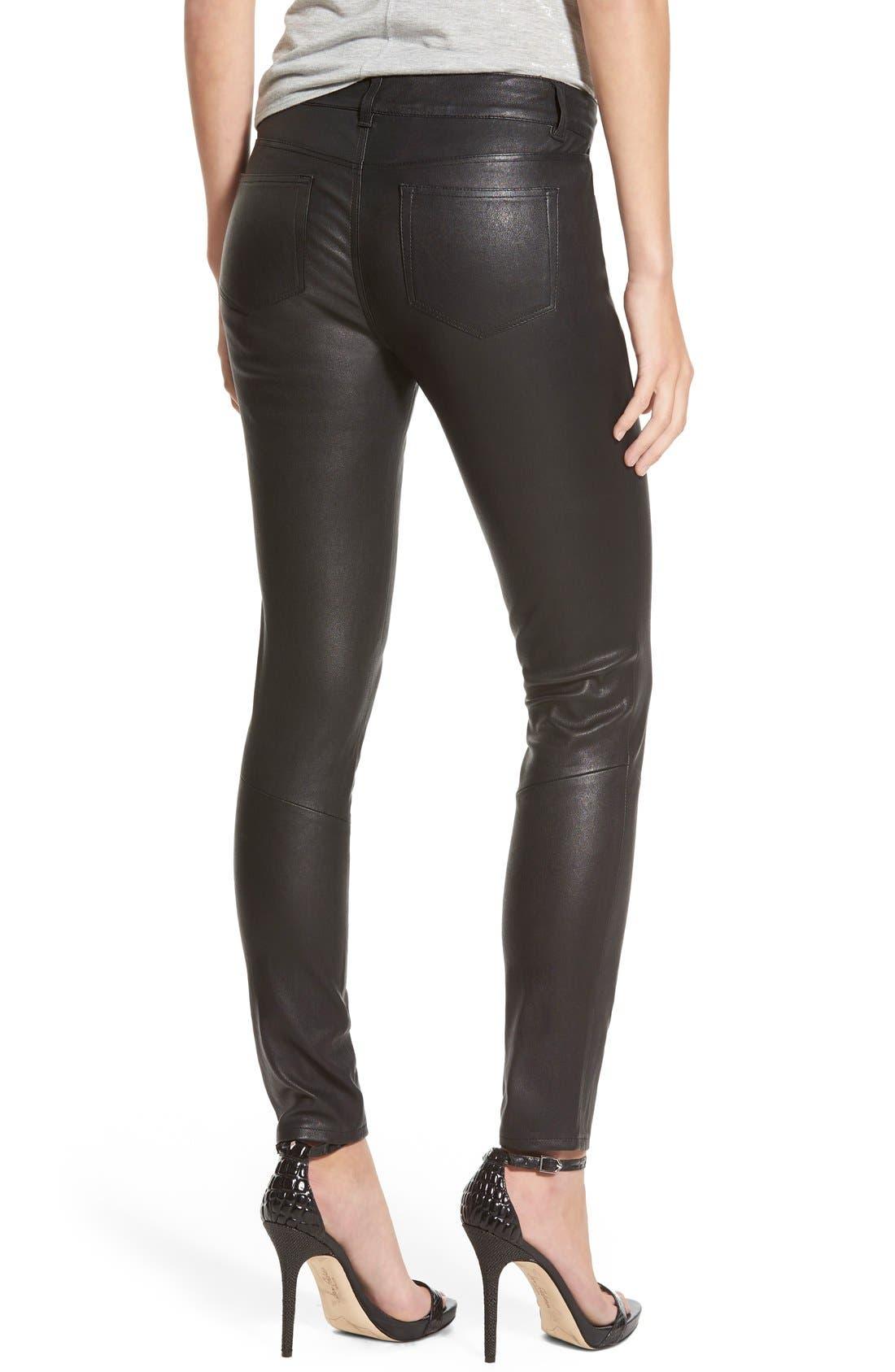 Alternate Image 2  - Paige Denim 'Verdugo' Leather Pants