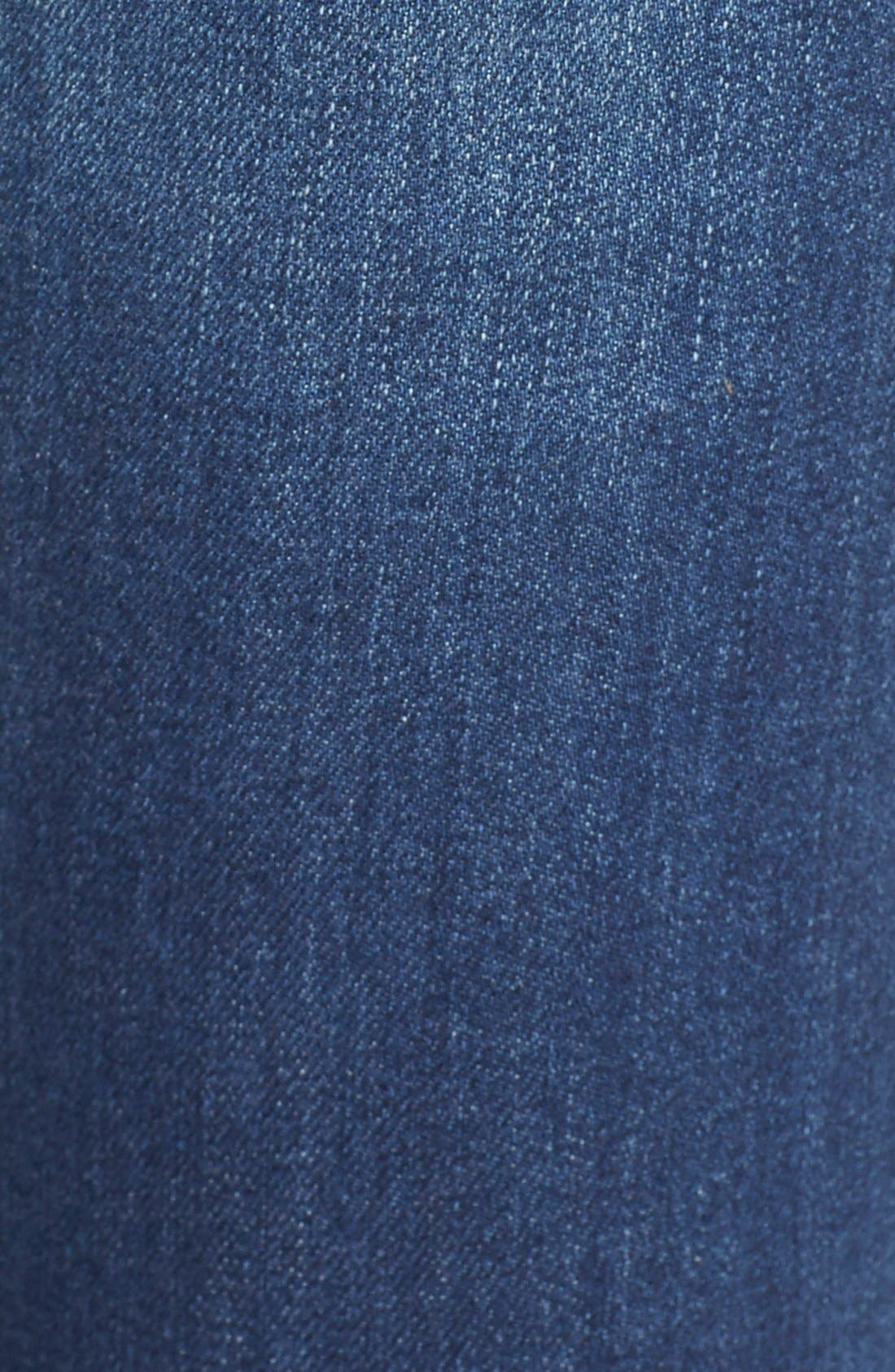 Alternate Image 5  - STS Blue 'Amy' Button Front Super Skinny Jeans