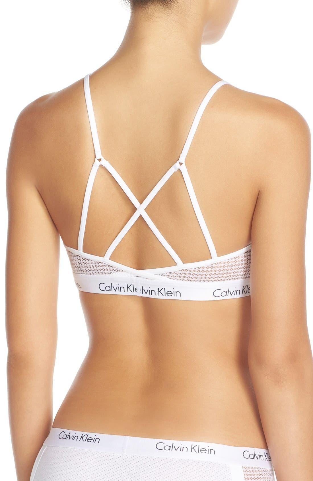 Alternate Image 4  - Calvin Klein 'One Micro' Bralette