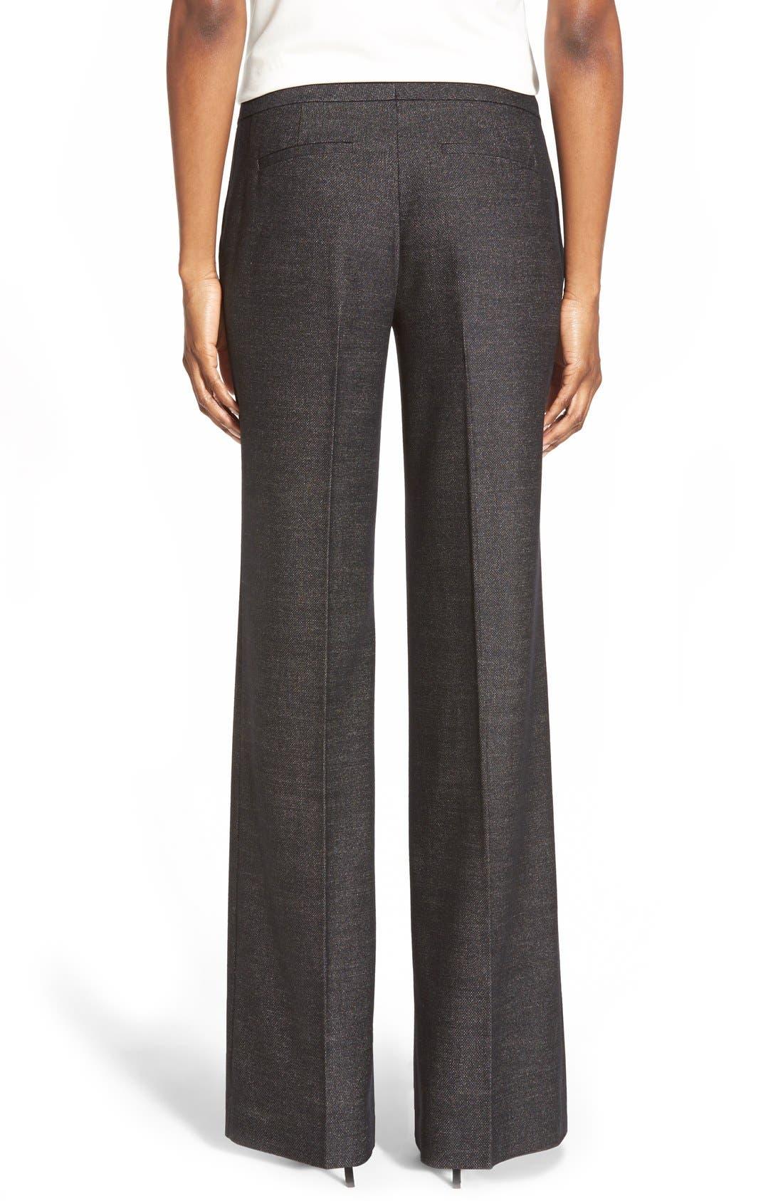 Alternate Image 2  - Classiques Entier® 'Verona' Suiting Trousers (Regular & Petite)