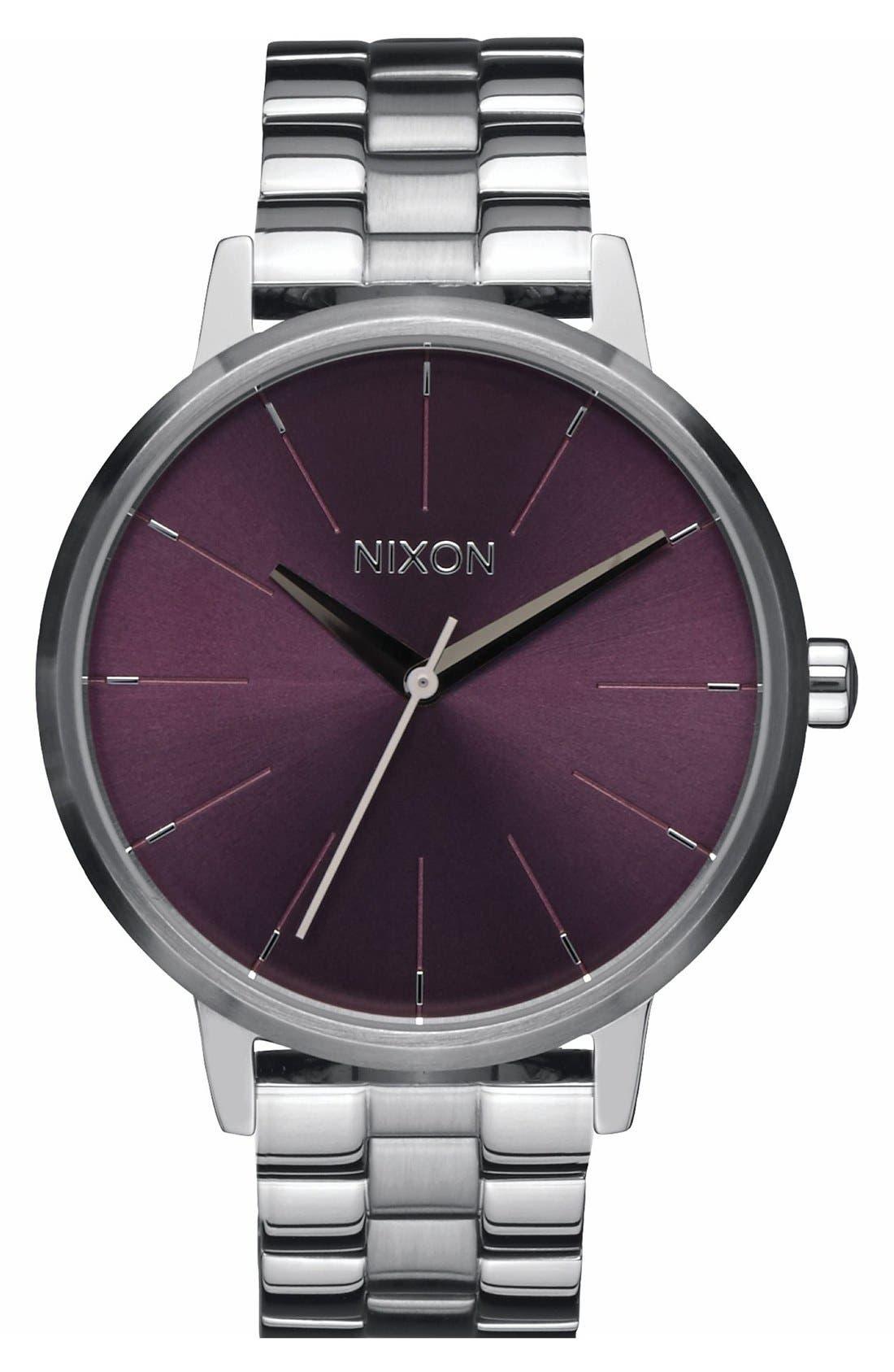 Alternate Image 1 Selected - Nixon 'The Kensingon' Bracelet Watch, 37mm