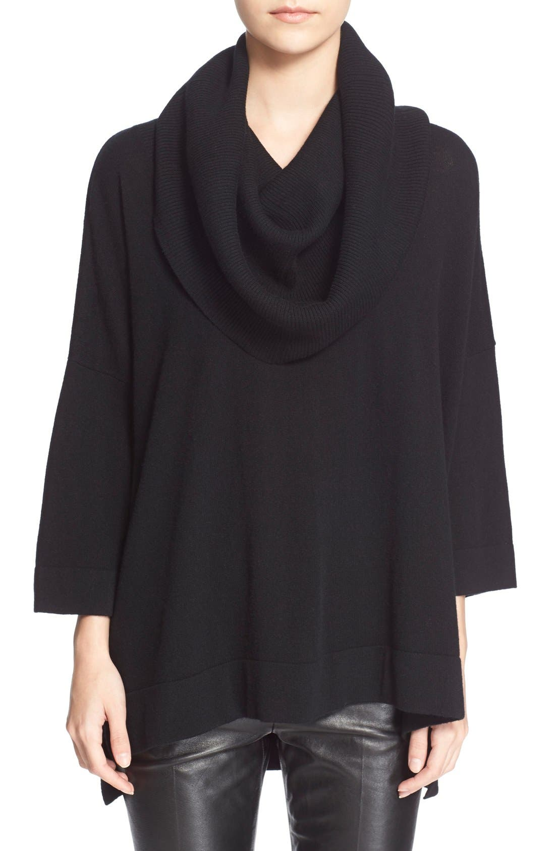 Alternate Image 1 Selected - autumn cashmere Oversized ConvertibleCowl NeckSweater