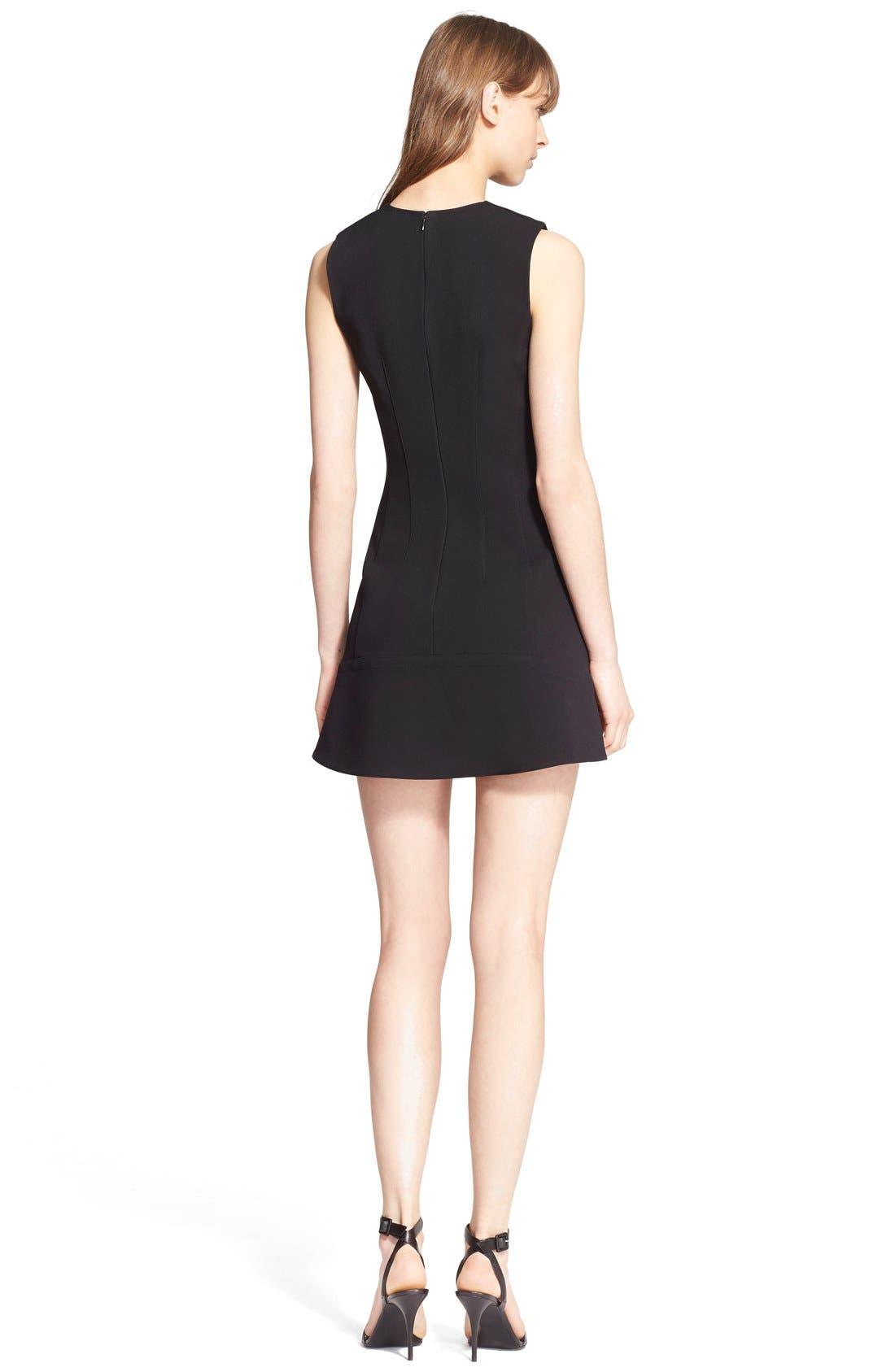 Alternate Image 2  - Alexander Wang Sleeveless Crepe Dress