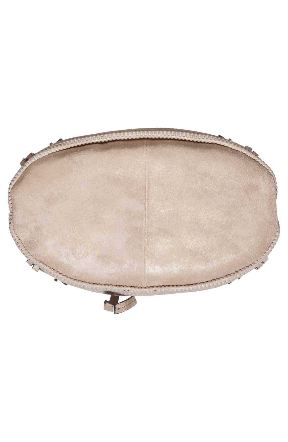 Alternate Image 6  - She + Lo 'Silver Lining' Drawstring Shoulder Bag
