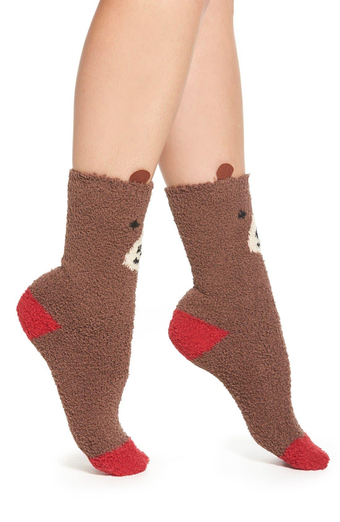 Alternate Image 2  - PJ Salvage 'Cozy Plush Bear' Socks