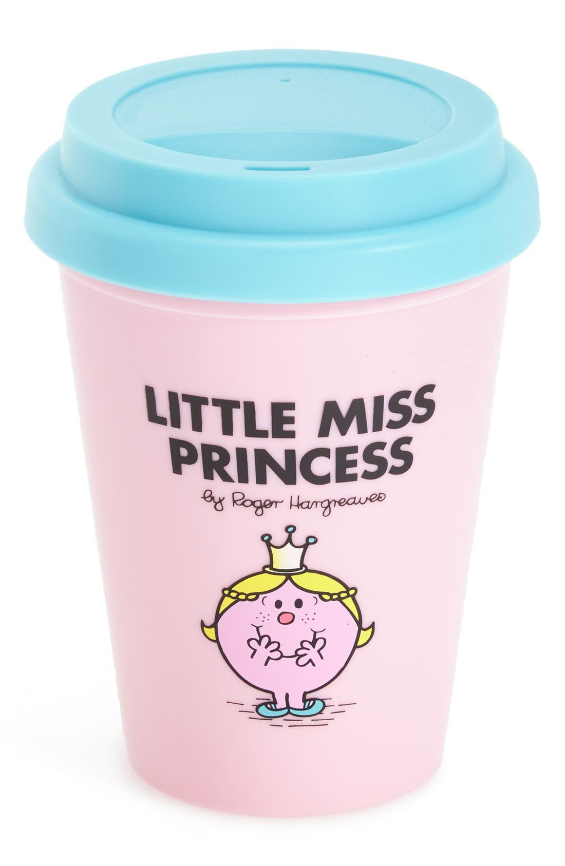 Alternate Image 1 Selected - Wild & Wolf 'Little Miss Princess' Travel Mug