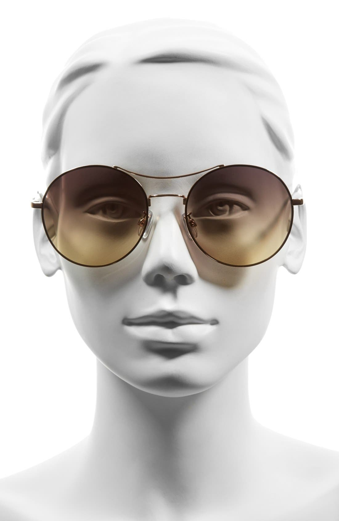 Alternate Image 2  - BP. 58mm Oversize Round Sunglasses