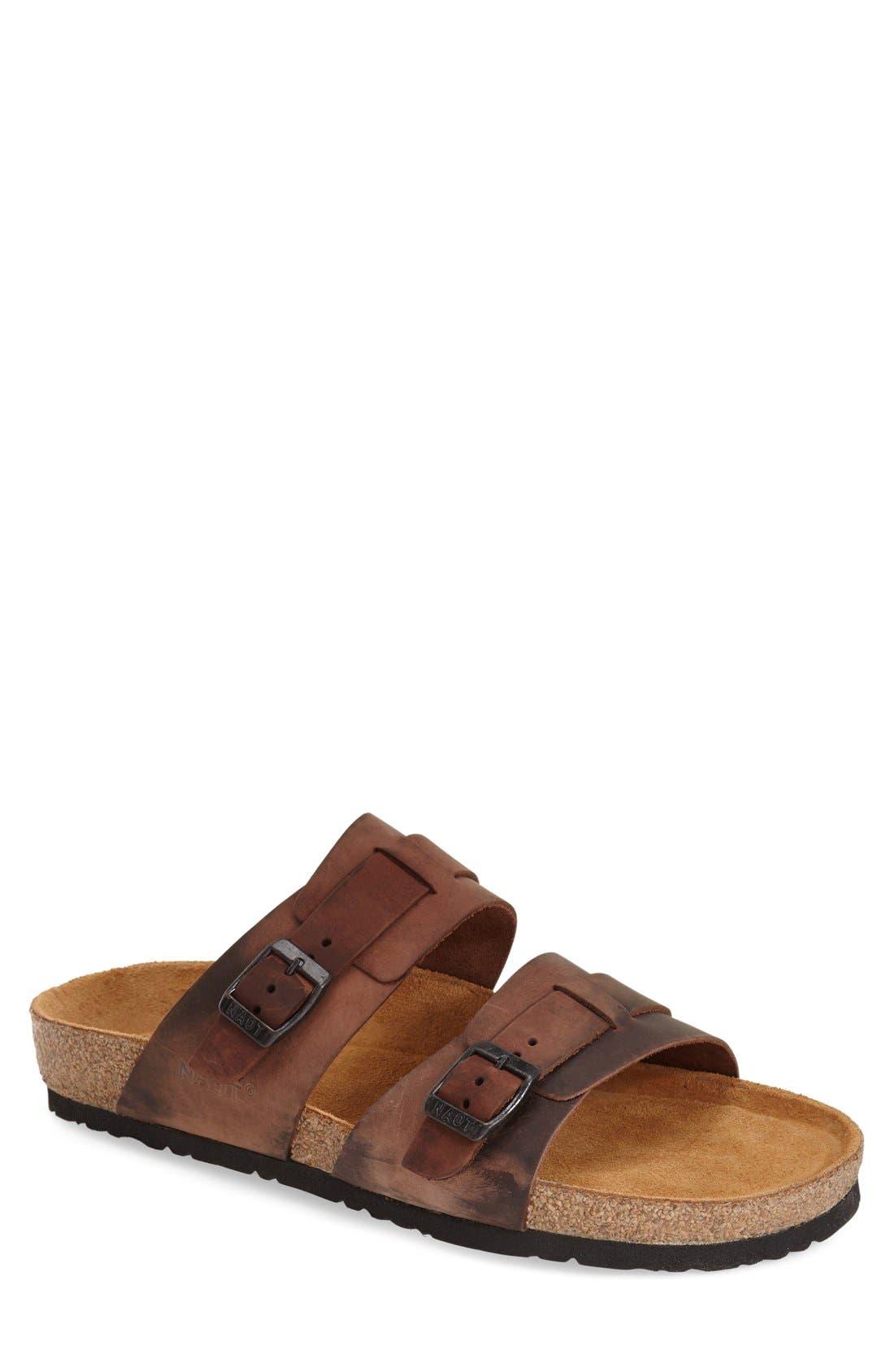 Naot 'Santa Cruz' Slide Sandal (Men)