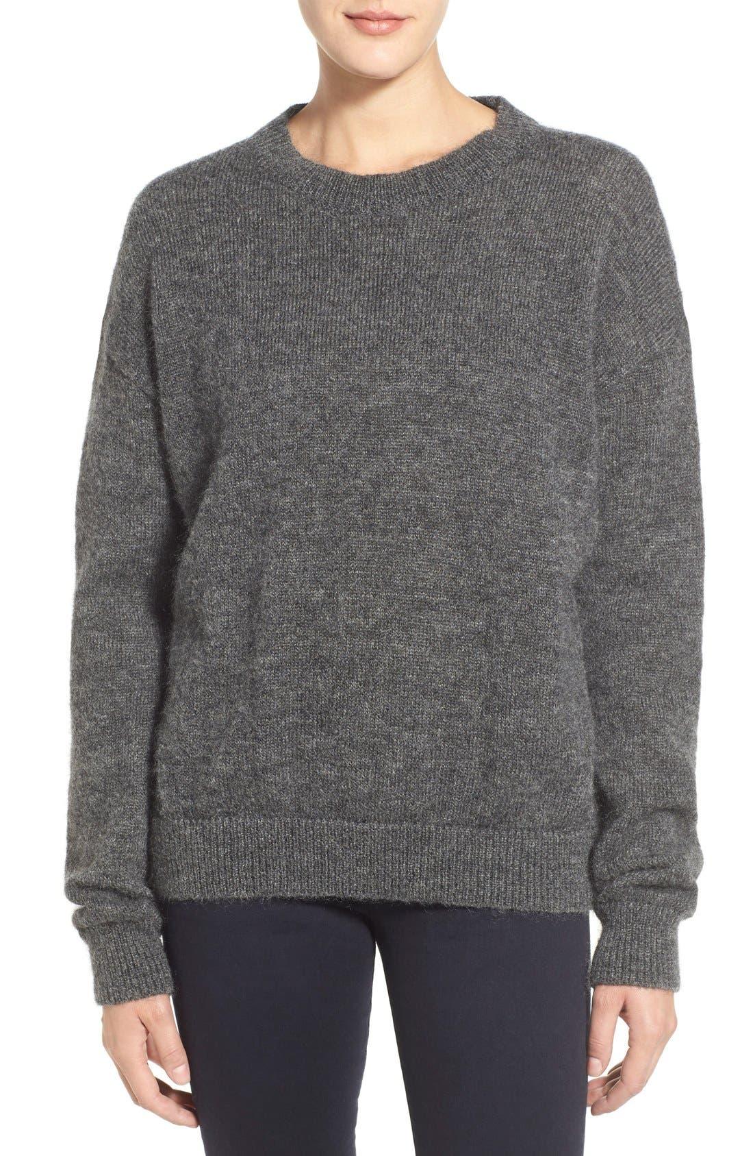 Alternate Image 1 Selected - M.i.h. Jeans 'Delo' Mohair Blend Crewneck Sweater