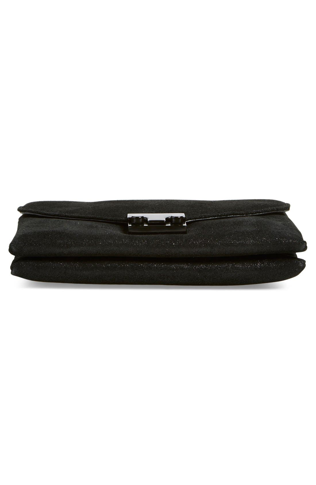 Alternate Image 6  - Loeffler Randall 'Junior Lock' Leather Clutch