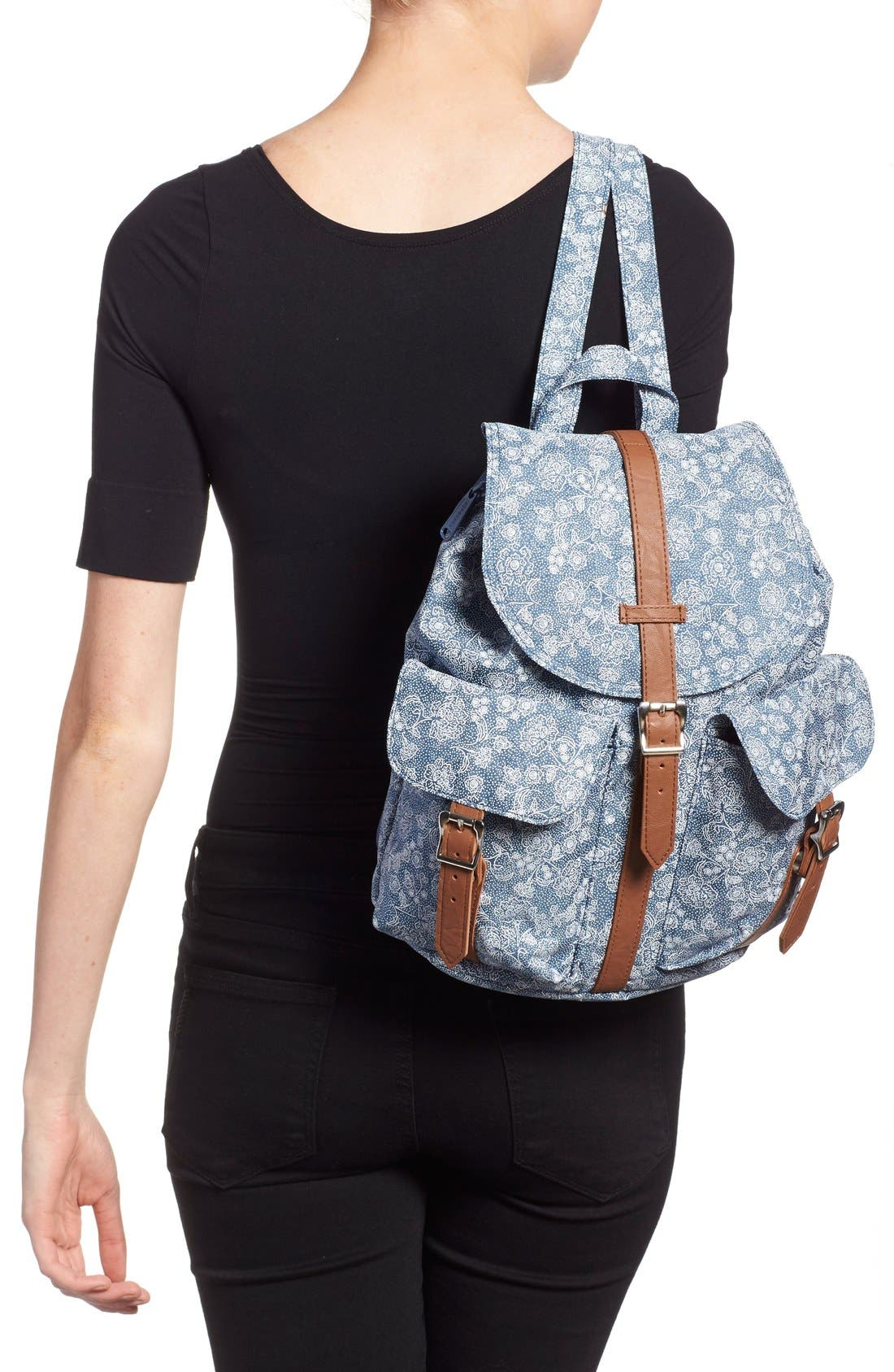 Alternate Image 2  - Herschel Supply Co 'Dawson - Floral' Backpack