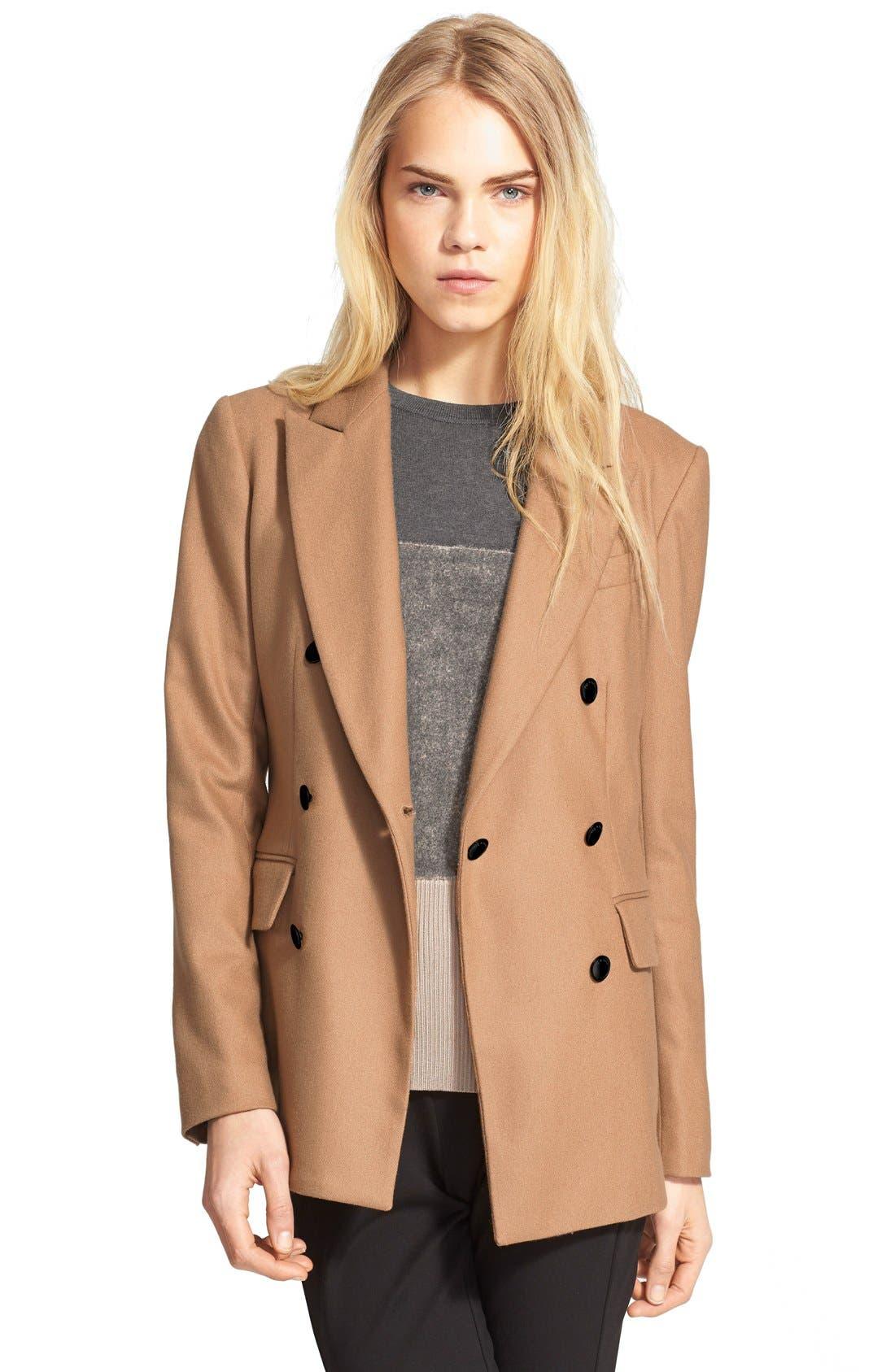 Alternate Image 1 Selected - rag & bone 'Corin' Wool Blend Blazer
