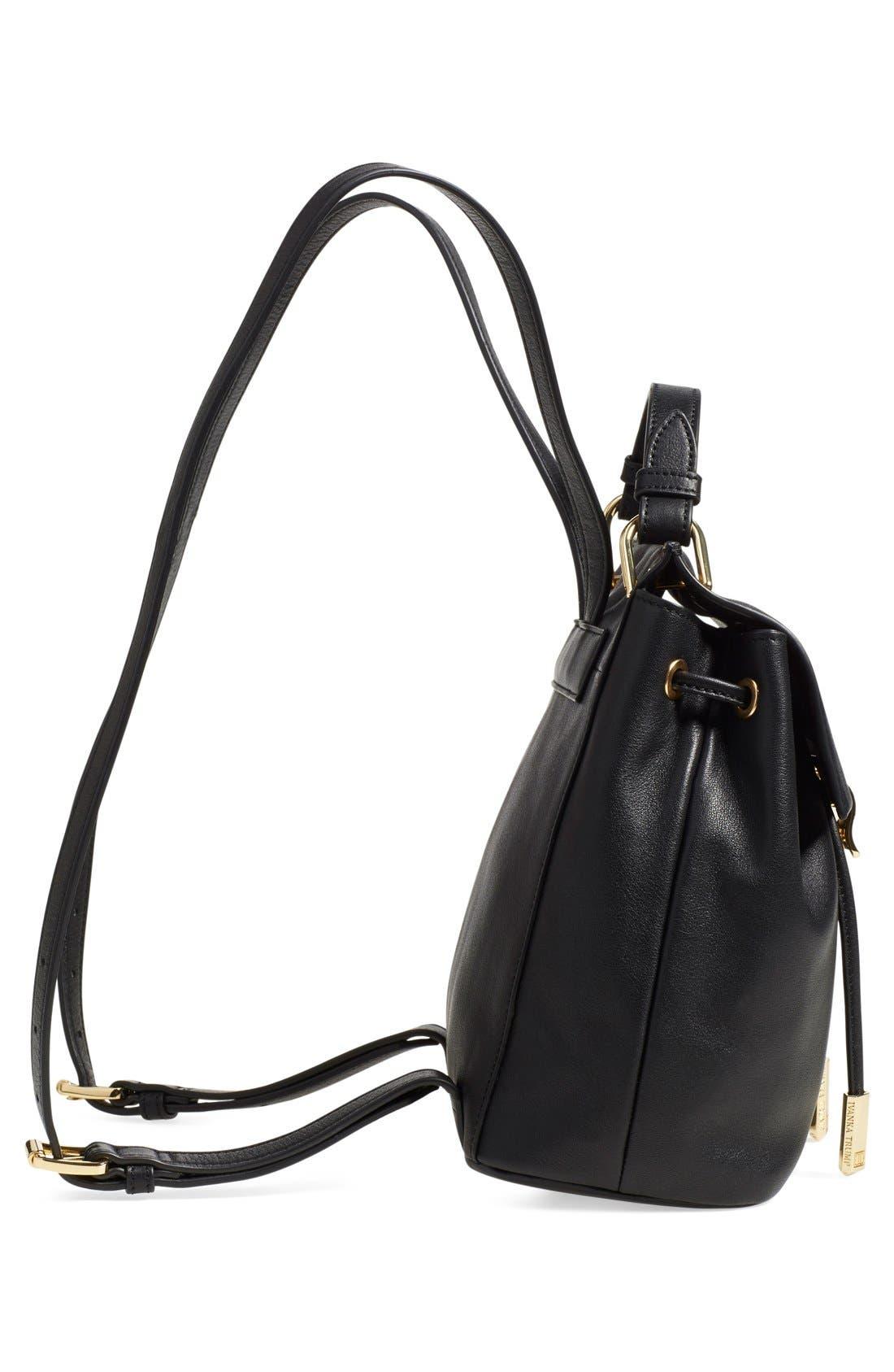 Alternate Image 5  - Ivanka Trump 'Mini Turner' Leather Backpack