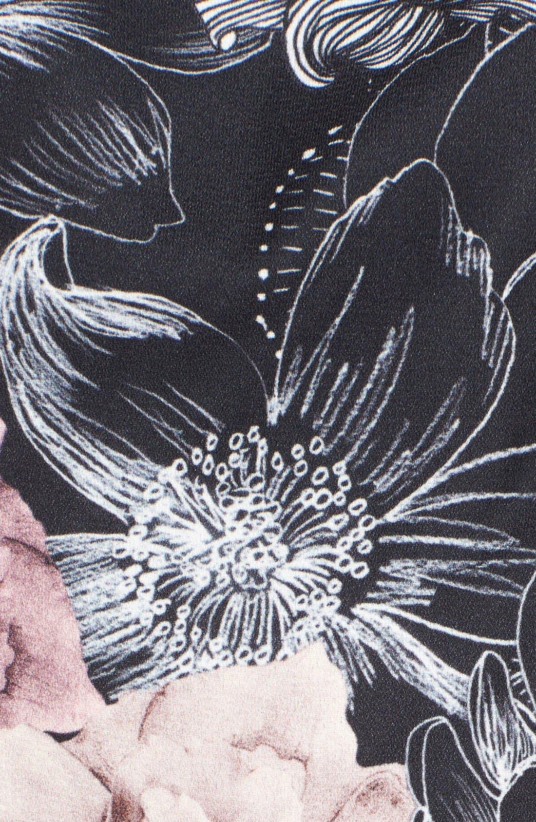 Alternate Image 5  - Keepsake the Label 'Restless Heart' Floral Romper