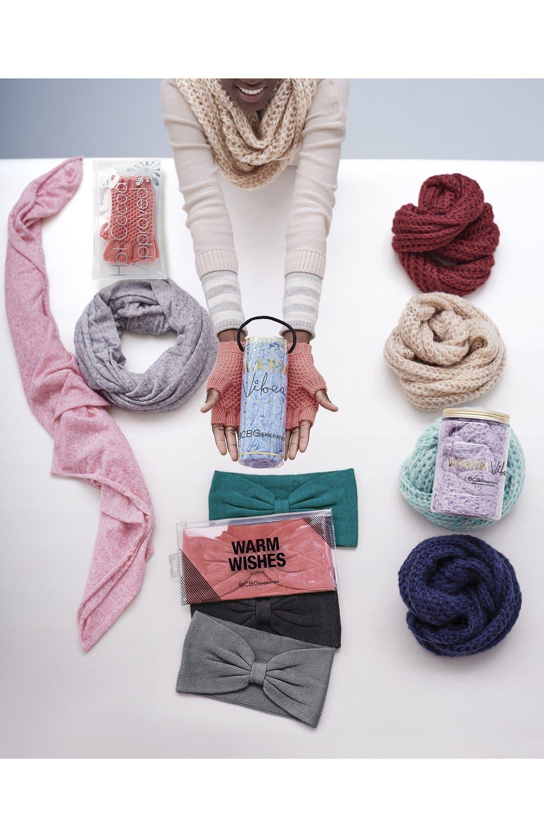 Alternate Image 2  - BCBGeneration 'Scribble Loop' Knit Infinity Scarf
