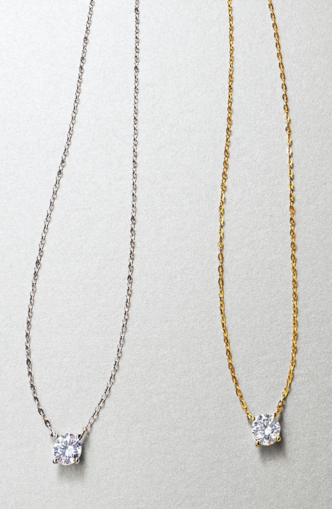 Alternate Image 4  - Nadri Cubic Zirconia Pendant Necklace
