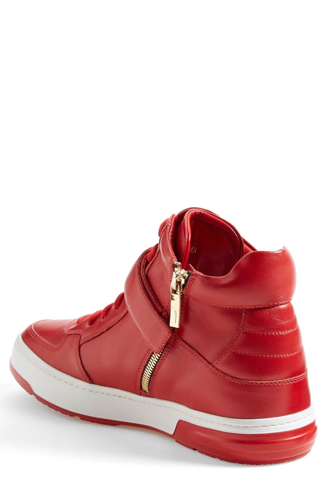 Alternate Image 3  - Salvatore Ferragamo 'Nayon' High Top Sneaker (Men)
