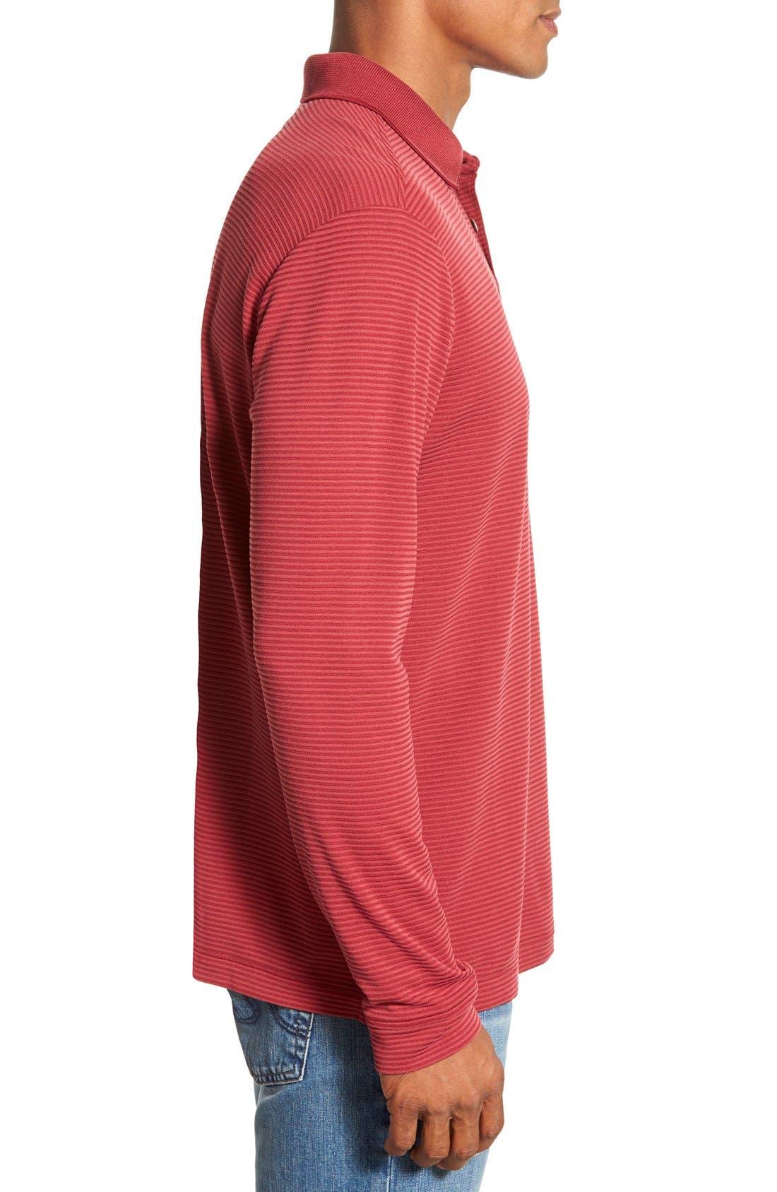 Alternate Image 3  - Tommy Bahama 'Superfecta' Stripe Long Sleeve Polo