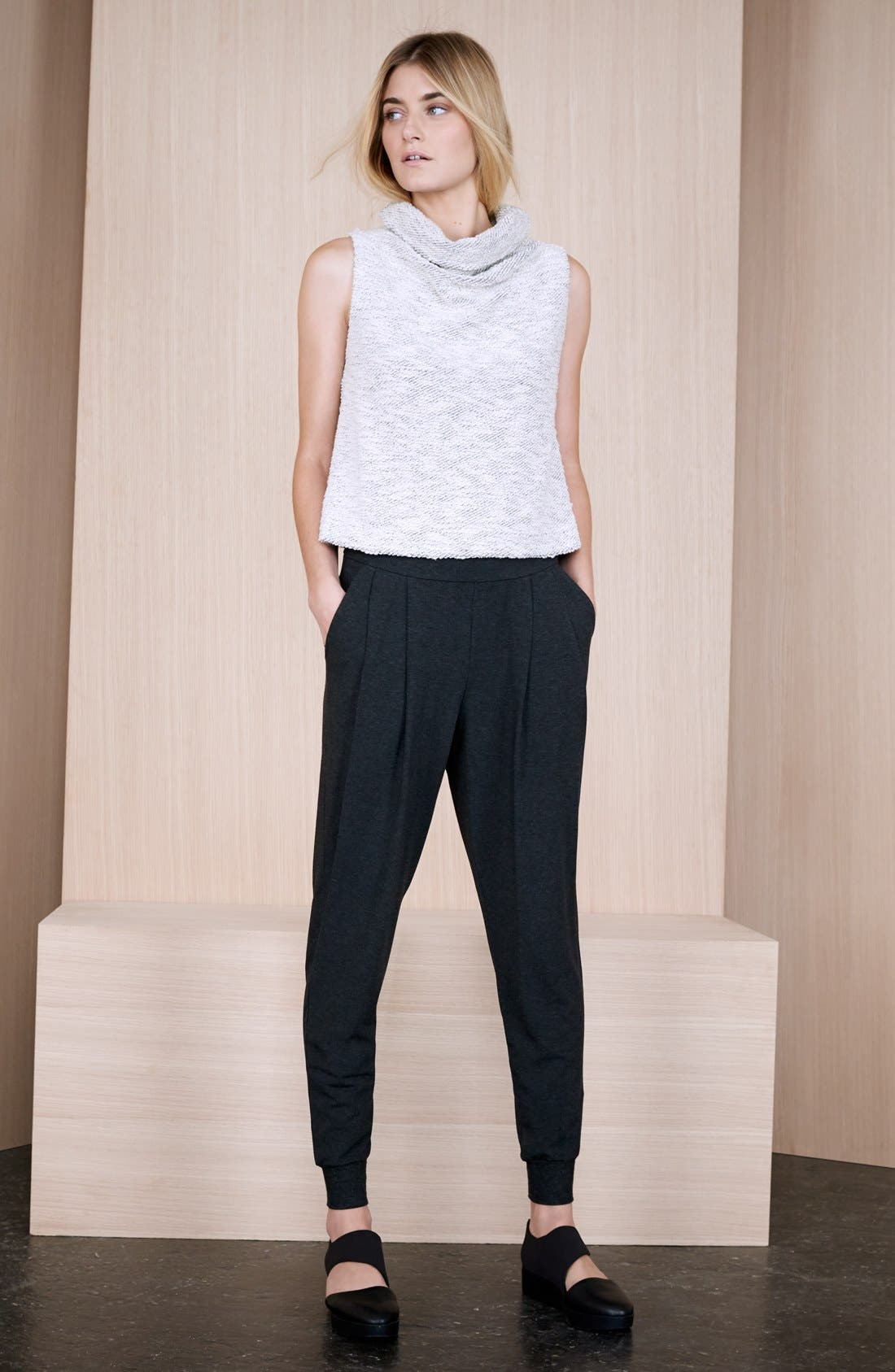 Alternate Image 4  - Eileen Fisher Slouchy Ankle Pants (Regular & Petite)