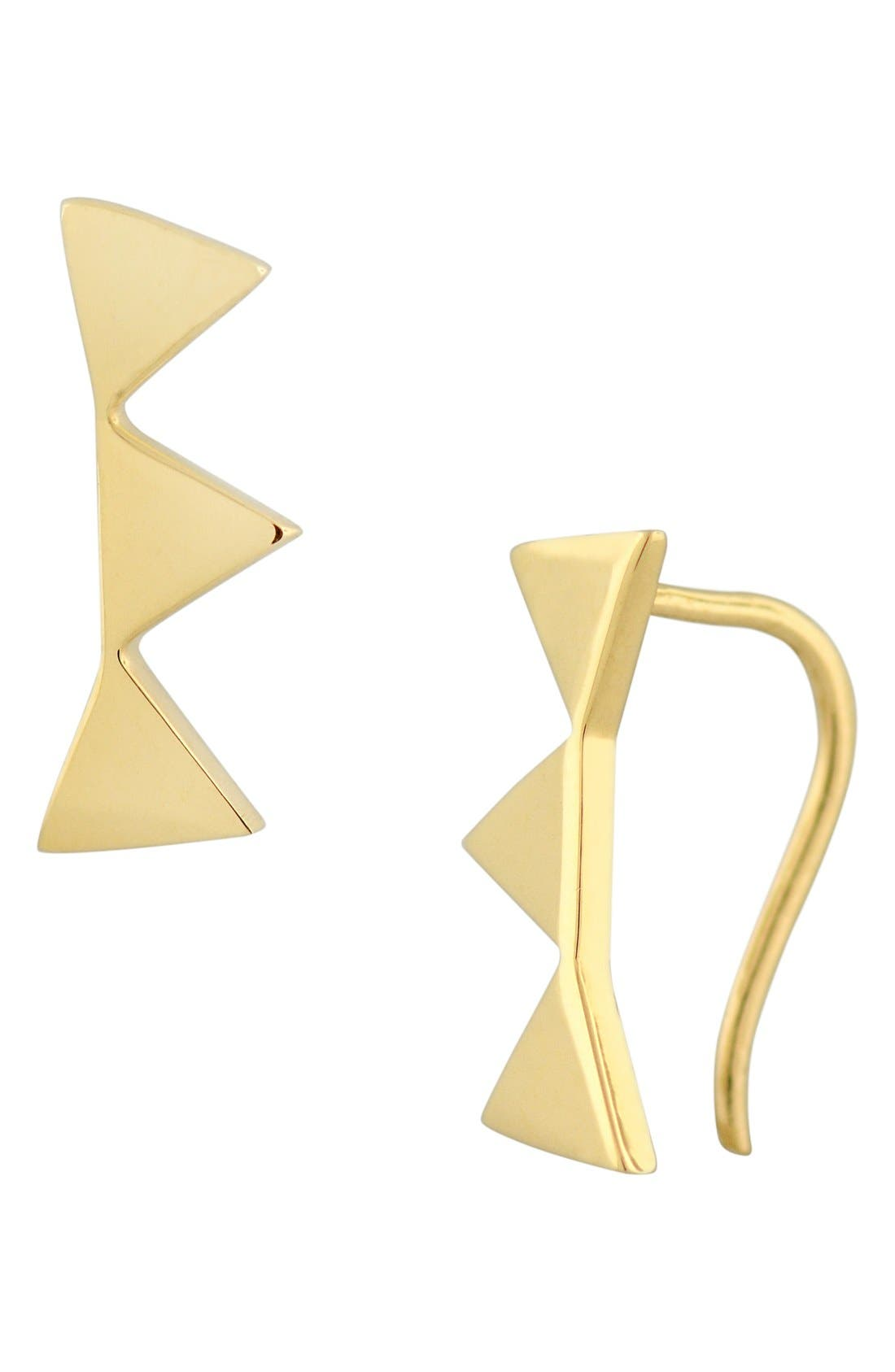 Alternate Image 1 Selected - Bony Levy Triangle Ear Crawlers (Nordstrom Exclusive)