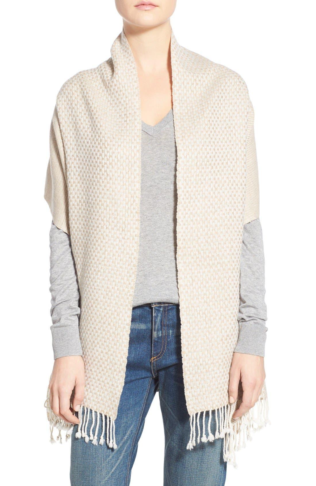 LA FIORENTINA Wool & Cashmere Shawl