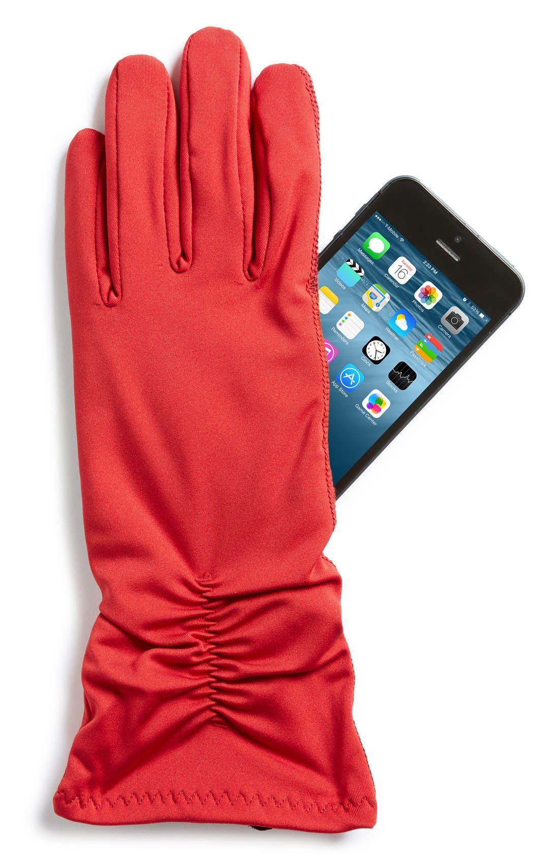 Alternate Image 2  - U|R Stretch Tech Gloves