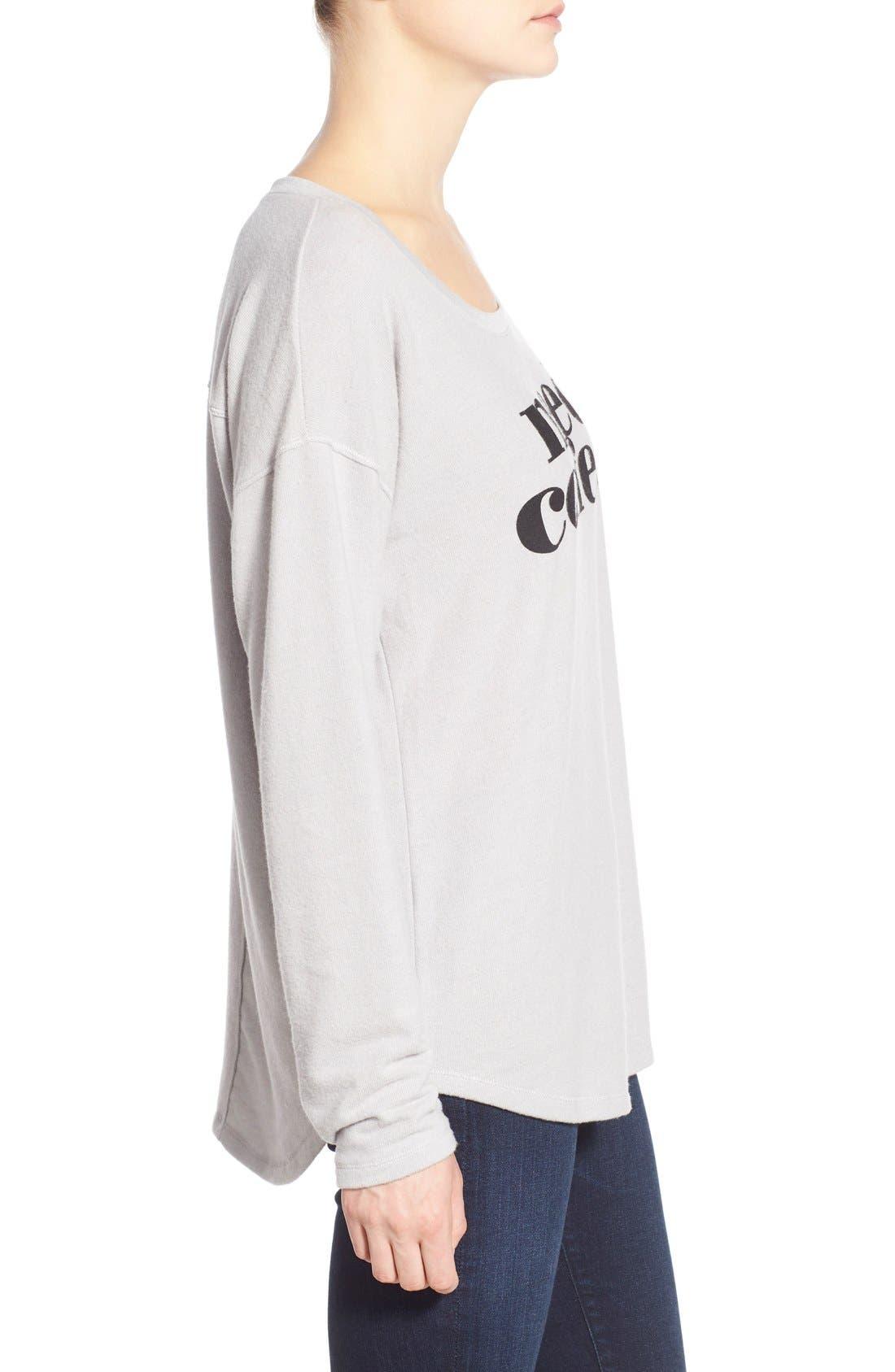 Alternate Image 3  - Signorelli Screenprint Dolman Sleeve Sweatshirt