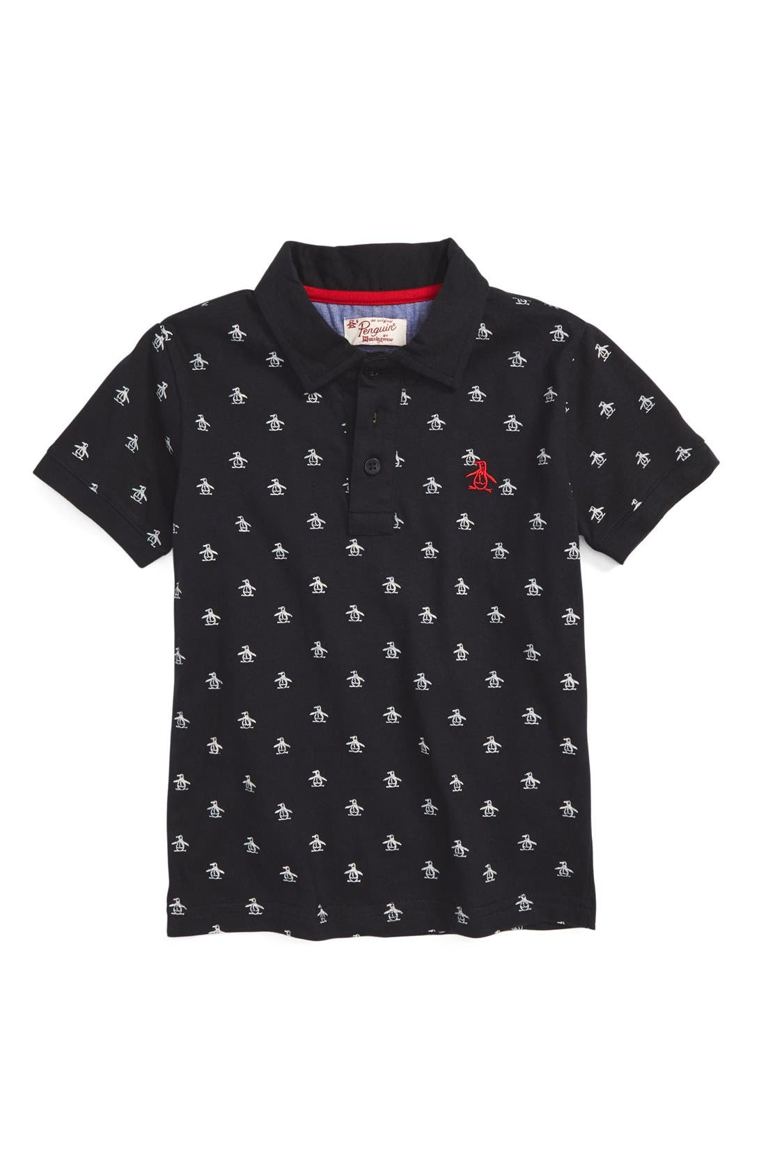 Original Penguin 'Re-Pete' Short Sleeve Polo (Toddler Boys & Little Boys)