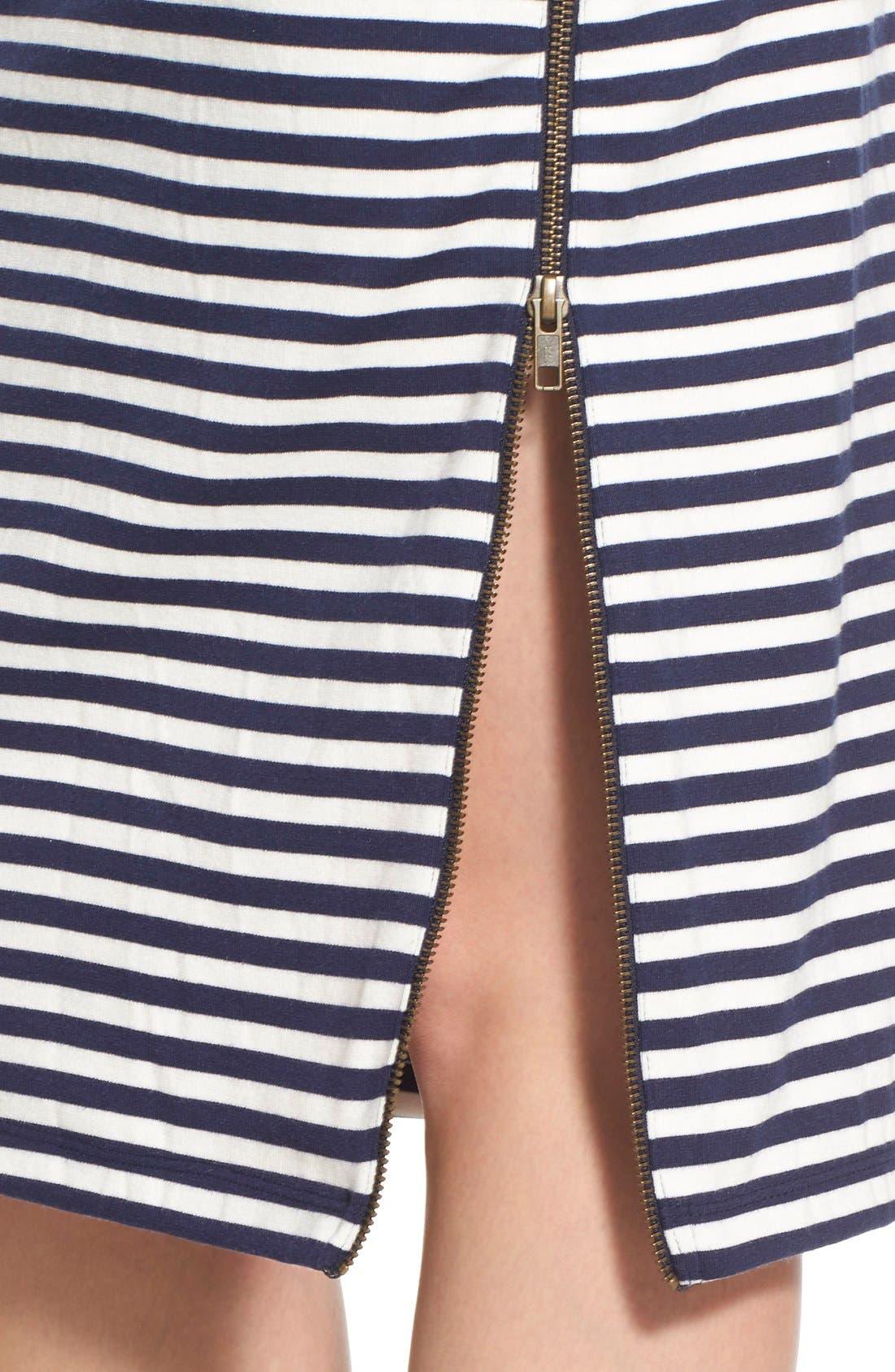 Alternate Image 5  - Caslon® Zip Detail Tube Skirt