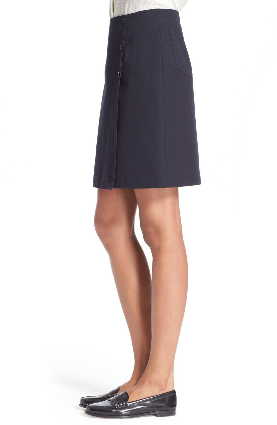 Alternate Image 3  - A.P.C. 'Lana' Cotton Skirt