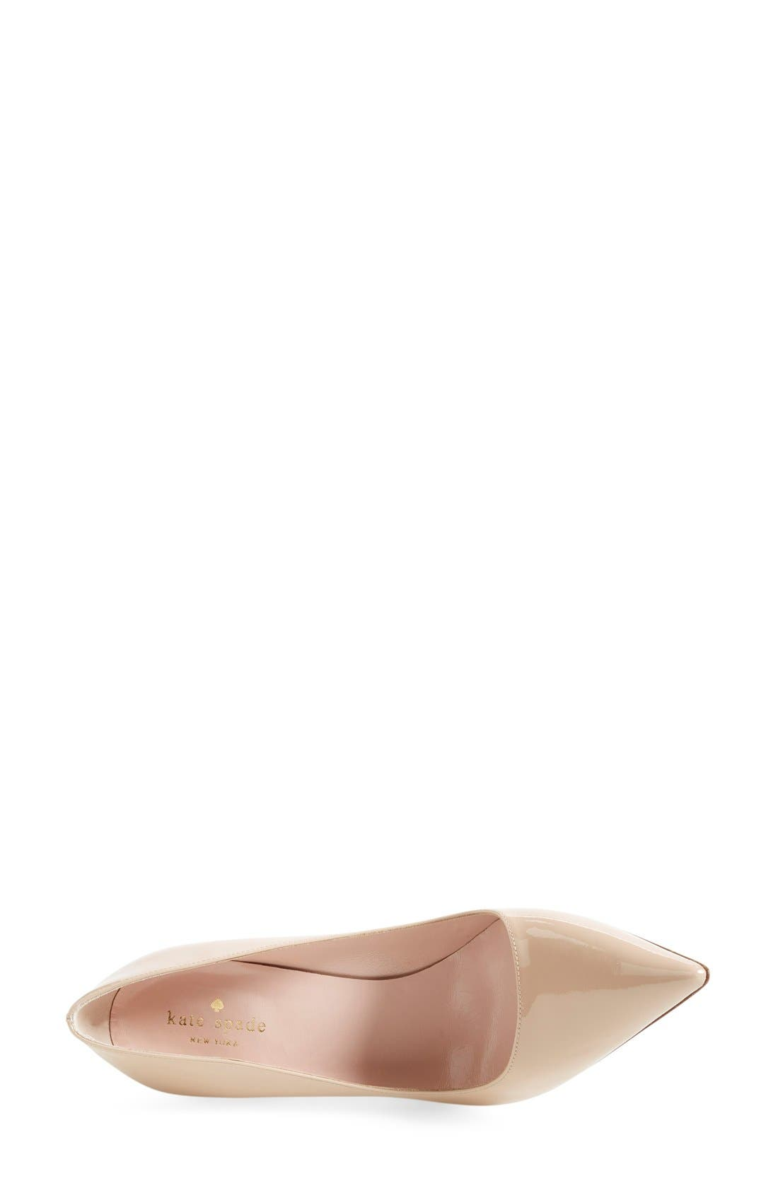 Alternate Image 3  - kate spade new york 'licorice too' pump (Women)
