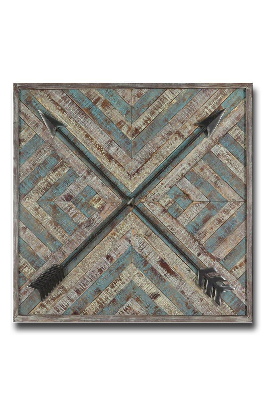 Alternate Image 1 Selected - Crystal Art Gallery 'Wood & Metal Arrows' Wall Art