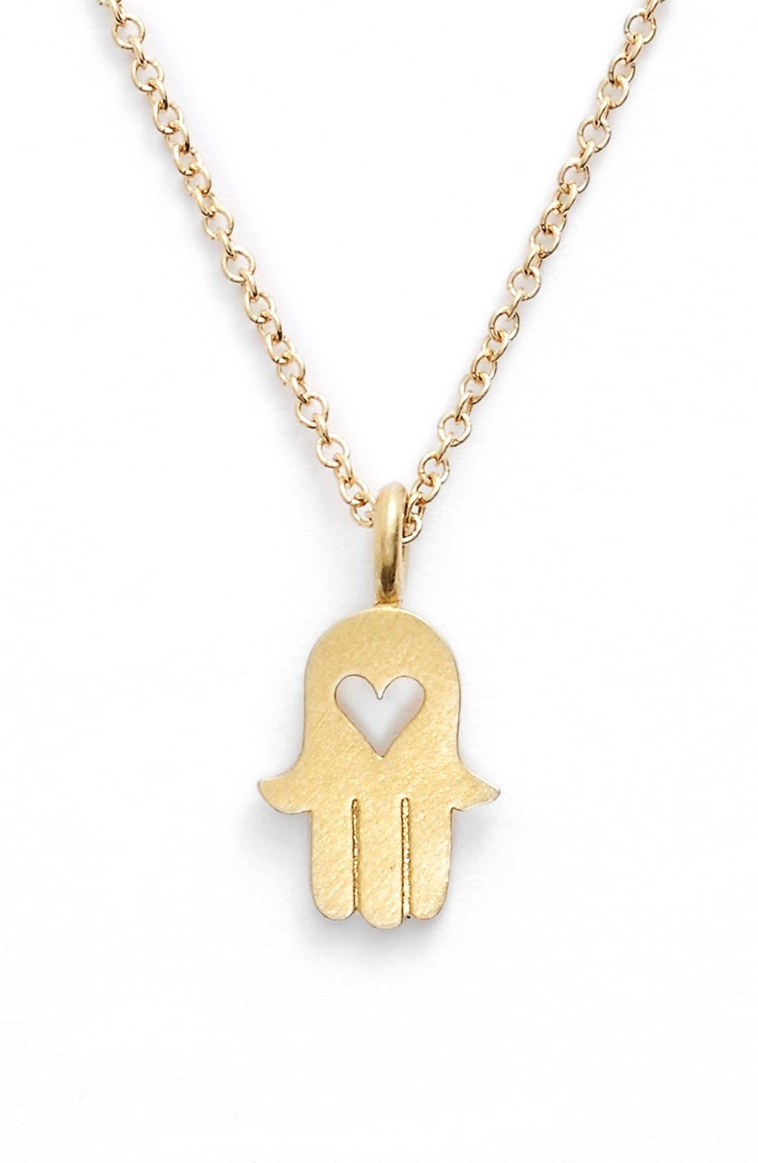 Alternate Image 2  - Dogeared 'Love and Protection' Pendant Necklace