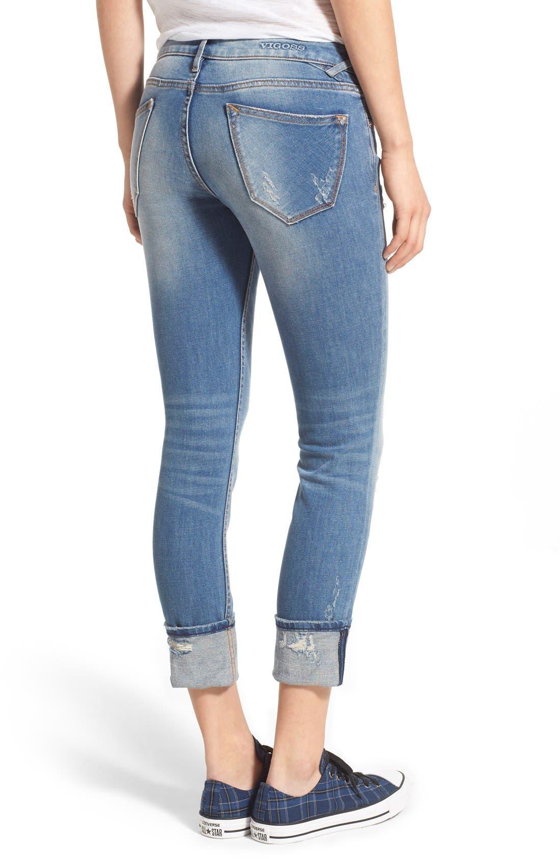 Alternate Image 2  - Vigoss 'Tompson' Easy Skinny Jeans