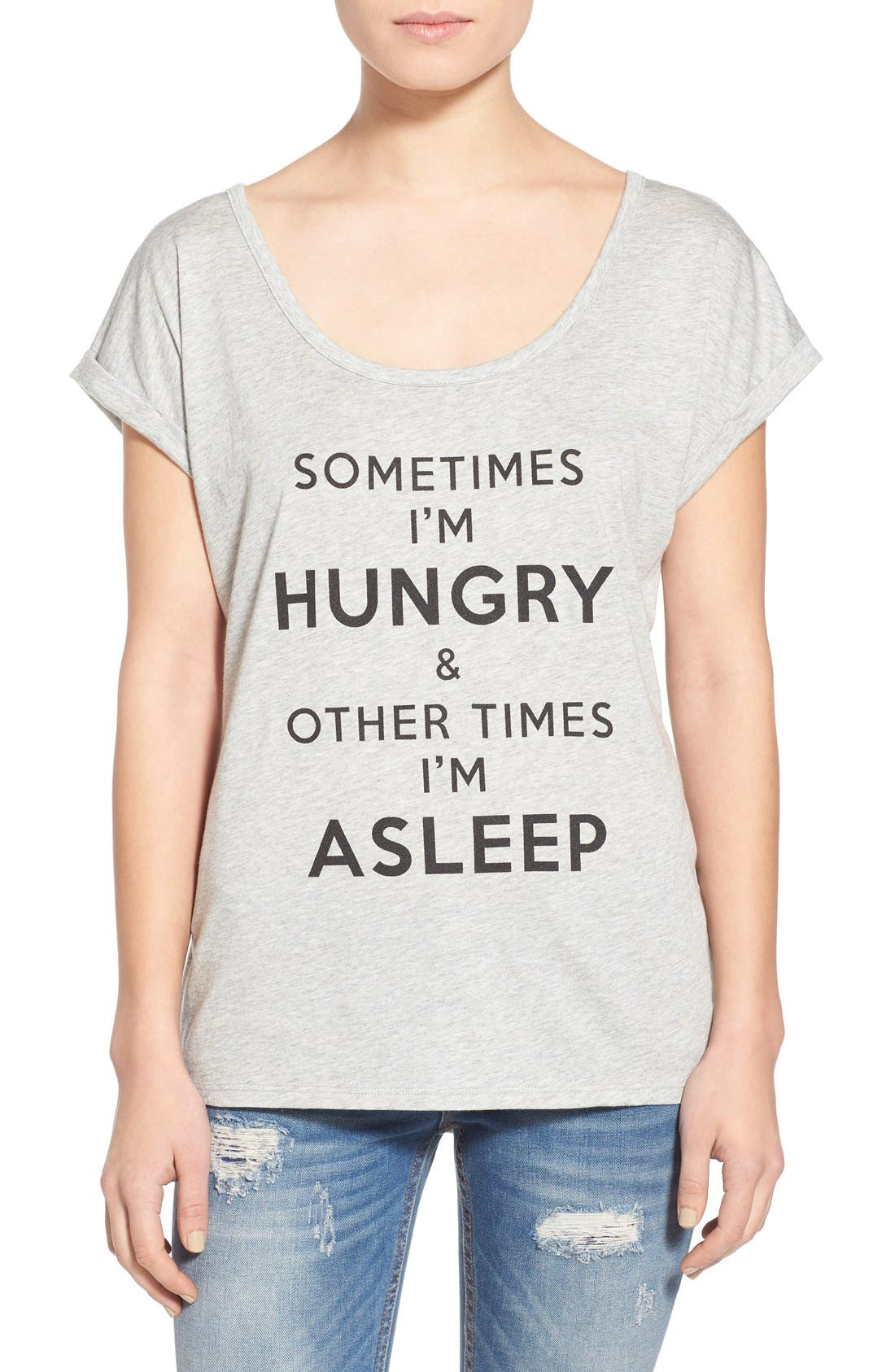 Alternate Image 1 Selected - Ten Sixty Sherman 'Sometimes I'm Hungry' Graphic T-Shirt
