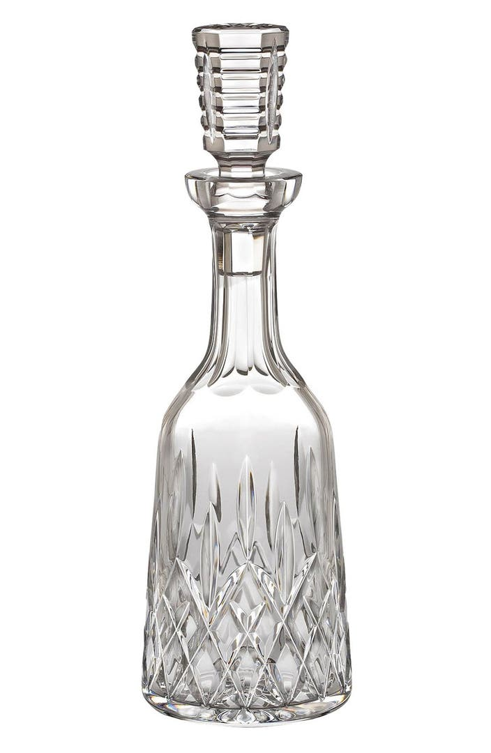 Waterford 39 lismore 39 lead crystal wine decanter nordstrom for What is wine decanter