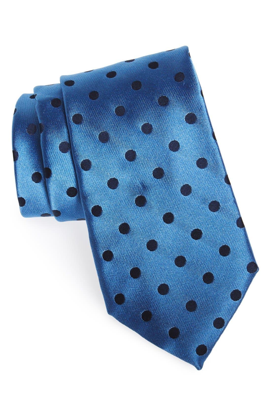 Main Image - Nordstrom Men's Shop Dot Silk Tie