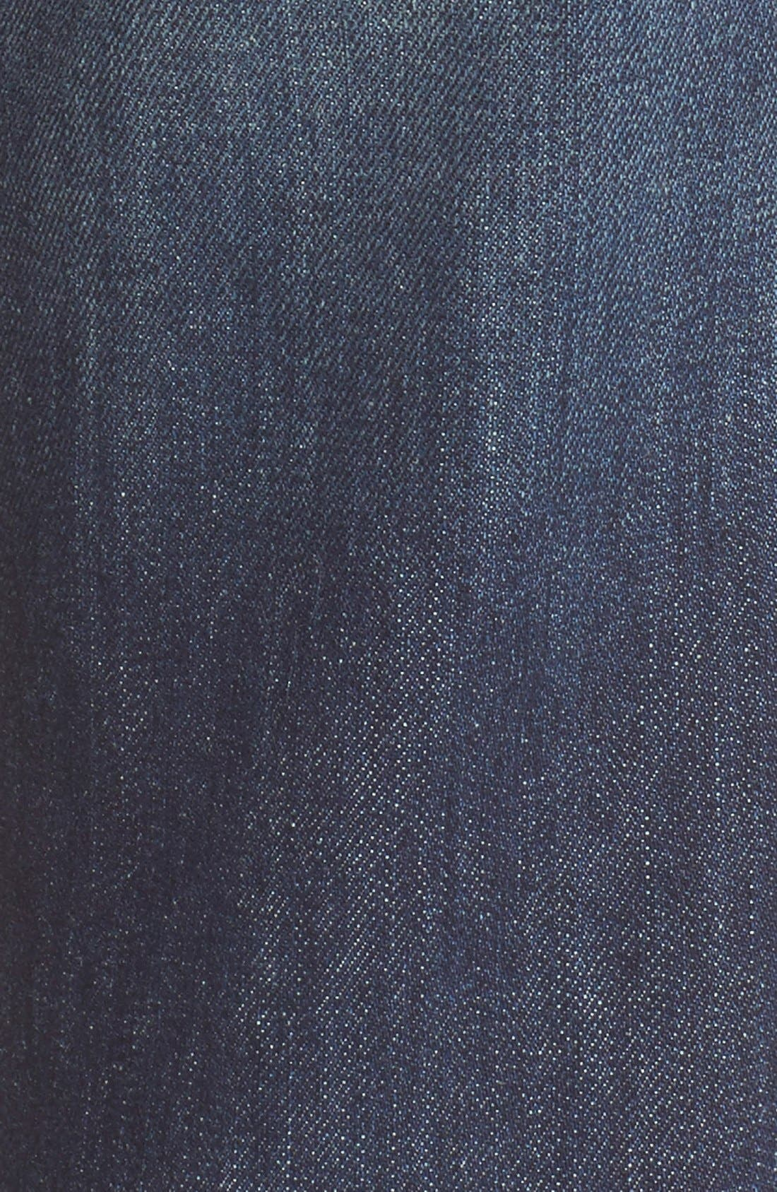 Alternate Image 5  - Vince 'Mason' Relaxed Rolled Jeans (Hyperion Ave)