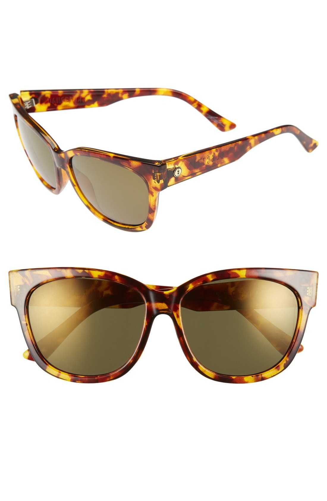 ELECTRIC 'Danger Cat' 58mm Cat Eye Sunglasses