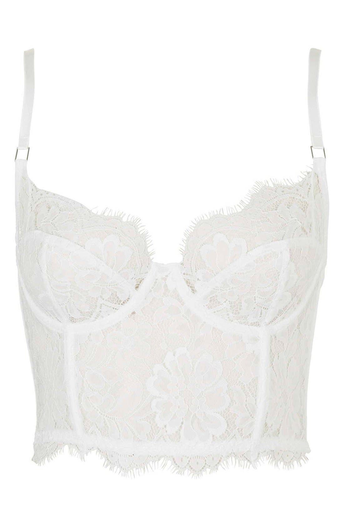 Alternate Image 3  - Topshop 'Loveday' Lace Bralette