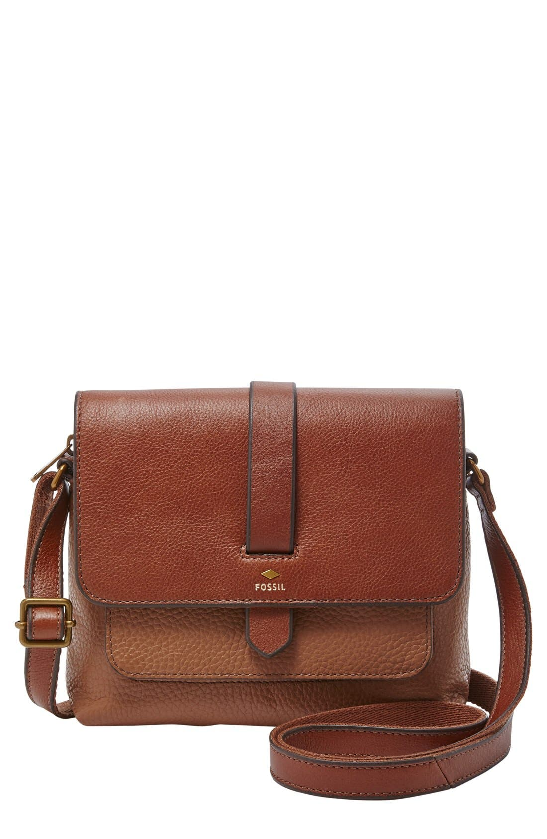 Alternate Image 1 Selected - Fossil 'Small Kinley' Crossbody Bag