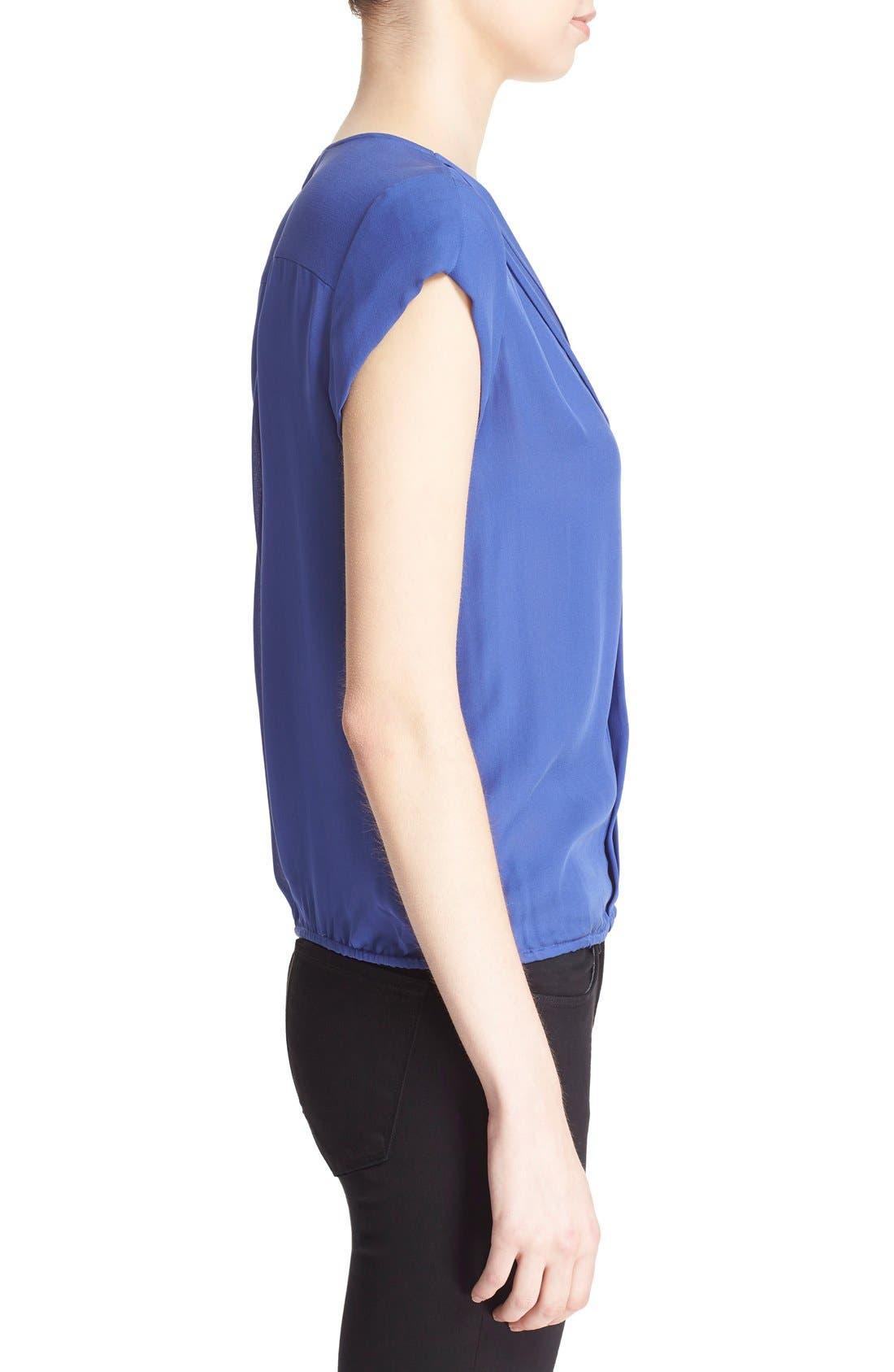 Alternate Image 3  - Joie 'Marcher' Pleated Silk Top