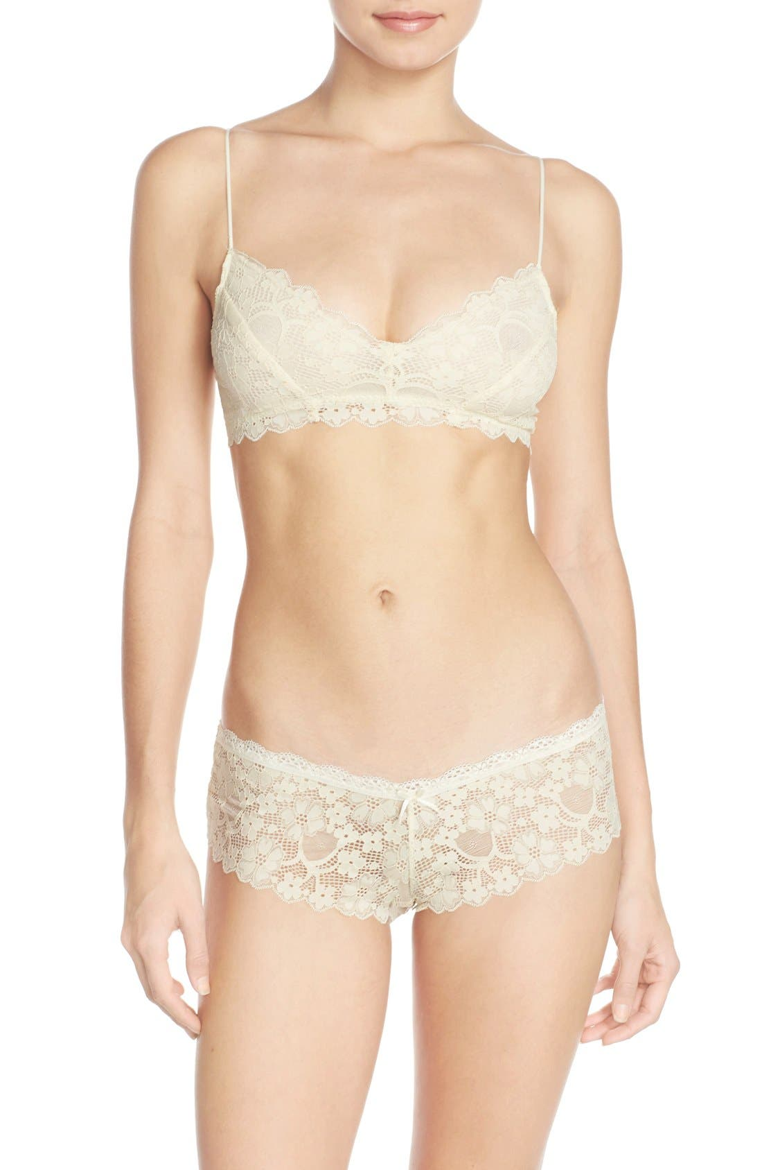 Honeydew Intimates 'Camellia' Bralette & Briefs