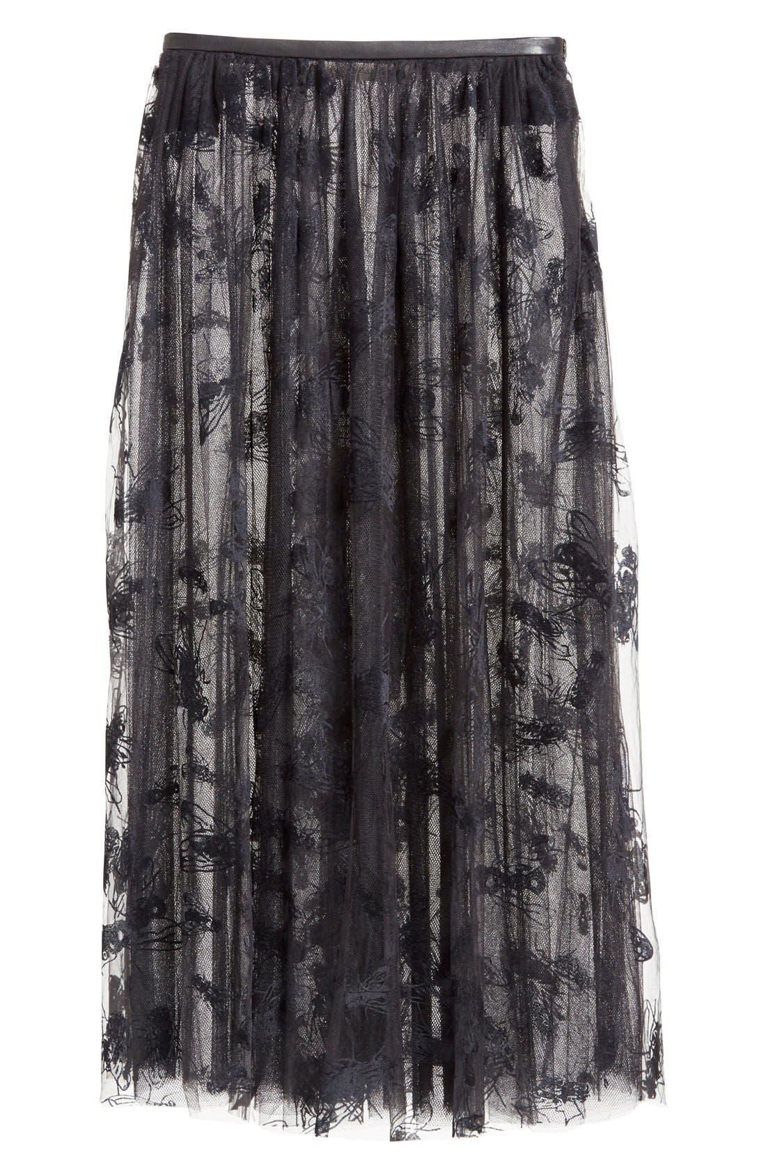 Alternate Image 4  - Ashley Williams 'Flock Fly' Sheer Tulle Skirt