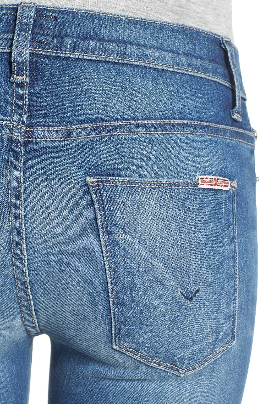 Alternate Image 4  - Hudson Jeans 'Nico' Super Skinny Jeans