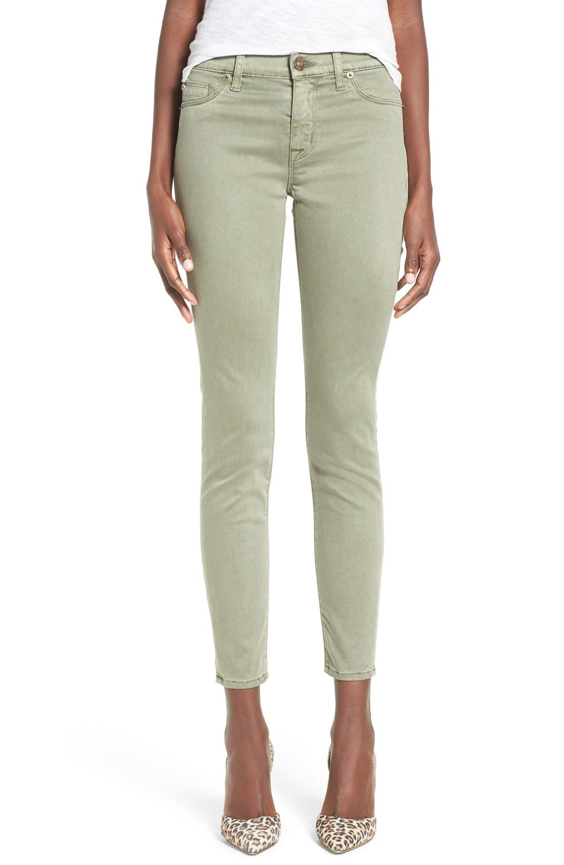 Alternate Image 1 Selected - Hudson Jeans 'Nico' Ankle Super Skinny Jeans (Earth Works)