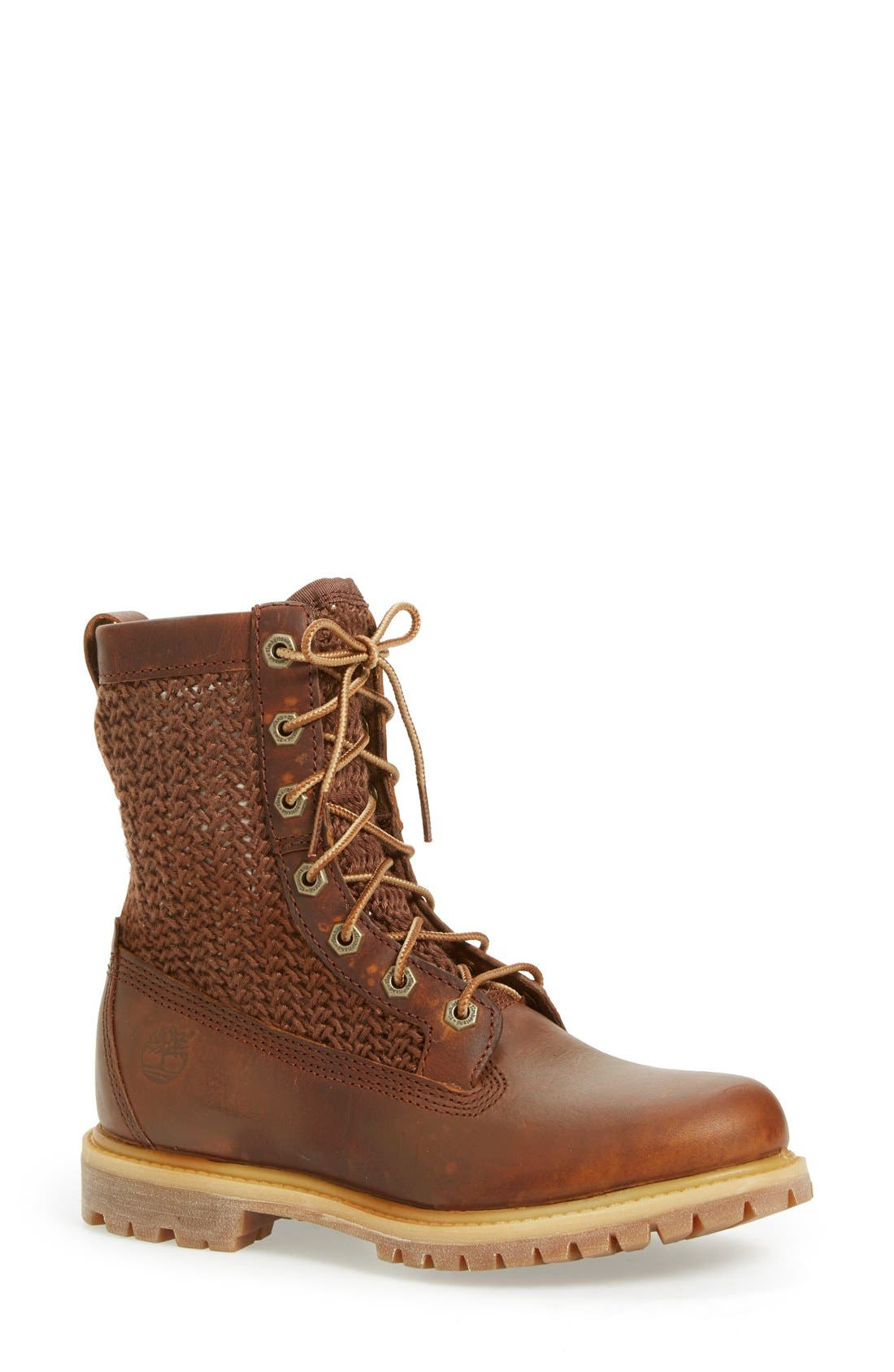 Alternate Image 1 Selected - Timberland 'Authentic' Lace-Up Boot (Women)