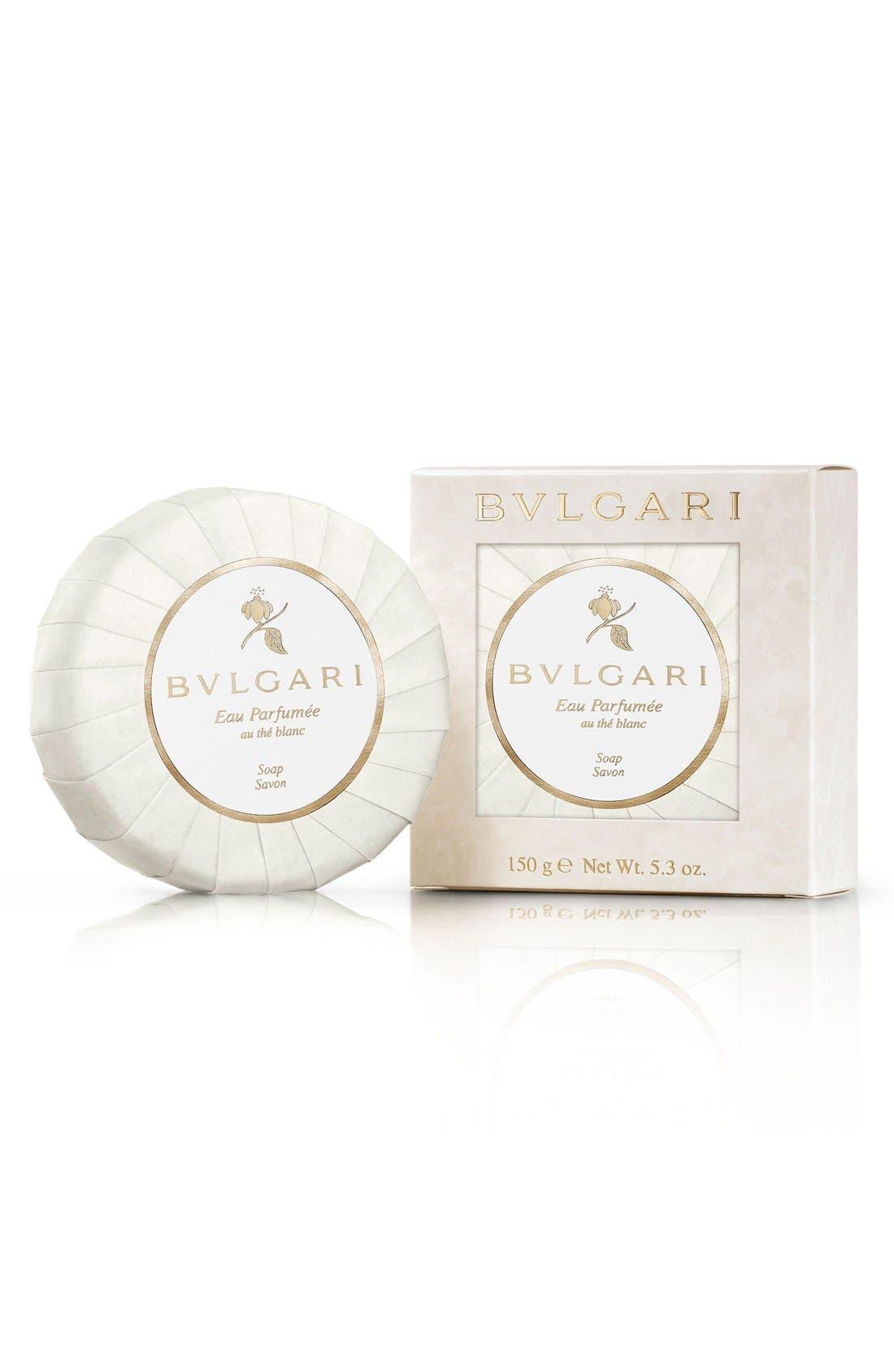 BVLGARI 'Eau Parfumée - au thé blanc' Deluxe Soap