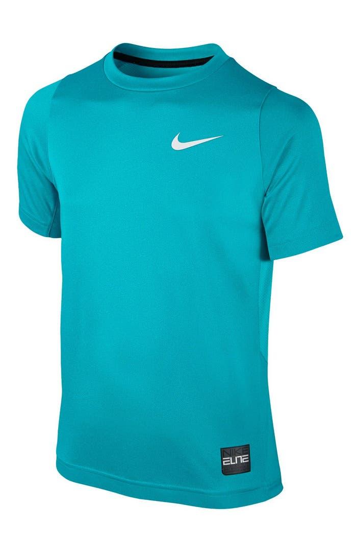 Nike 'Elite' Dri-FIT T-Shirt (Little Boys & Big Boys ...